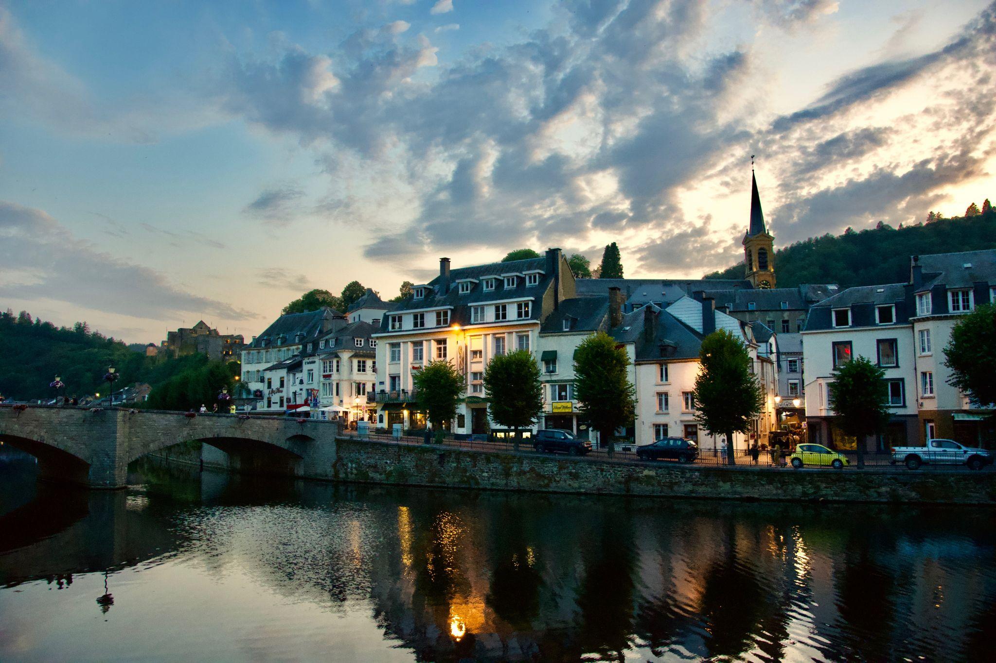 Bouillon, la Semois, Belgium