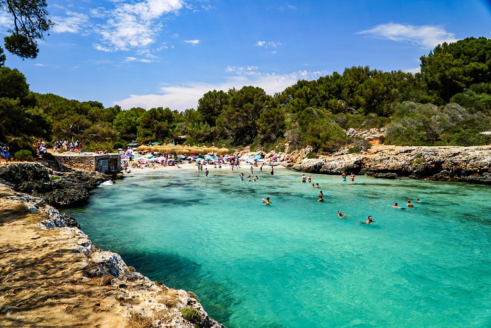 Cala Sa Nau, Spain