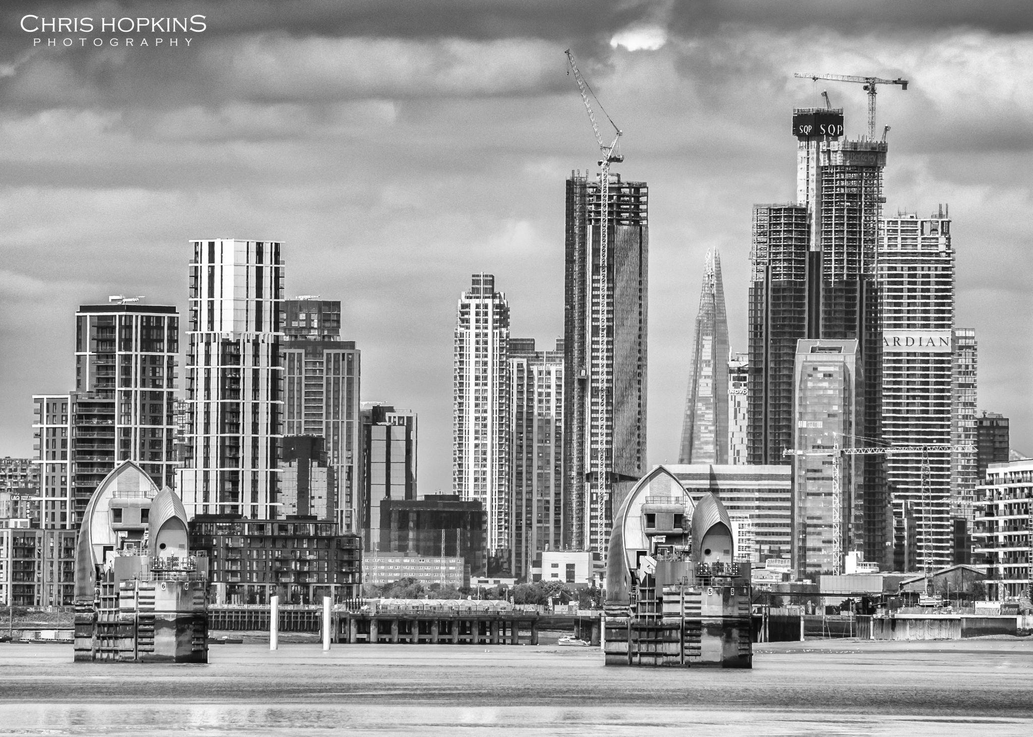 Canary Wharf & Thames Barrier, United Kingdom