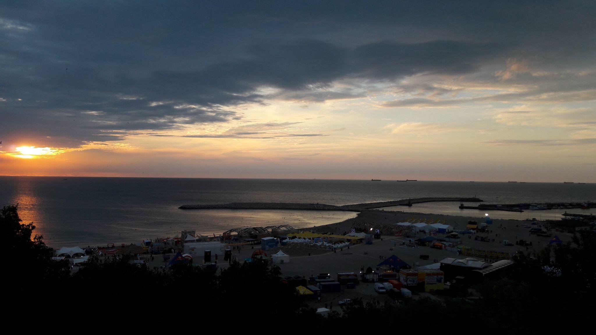 Constanța Sunrise on the Bay, Romania