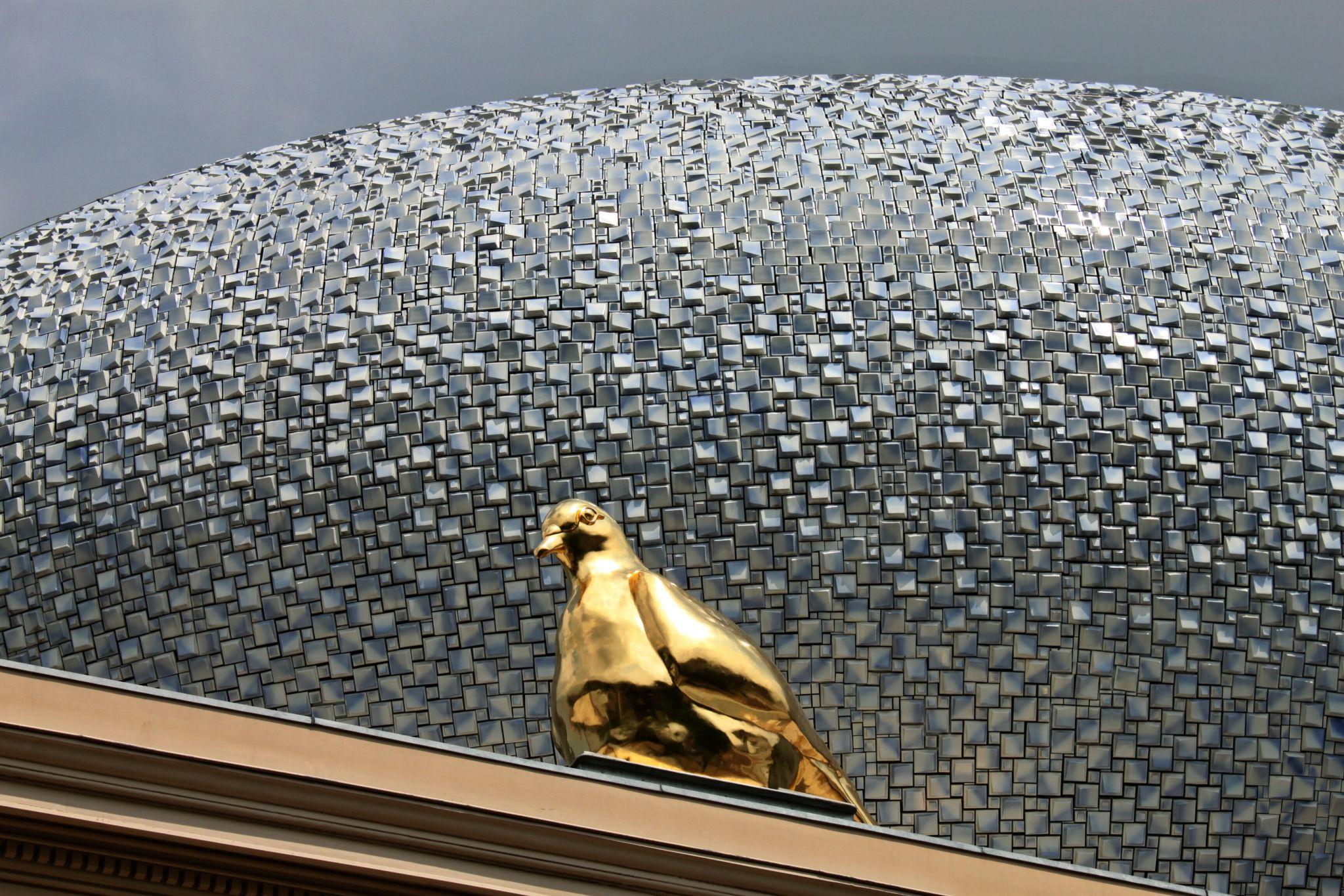Dach auf dem Museum in Zwolle, Netherlands