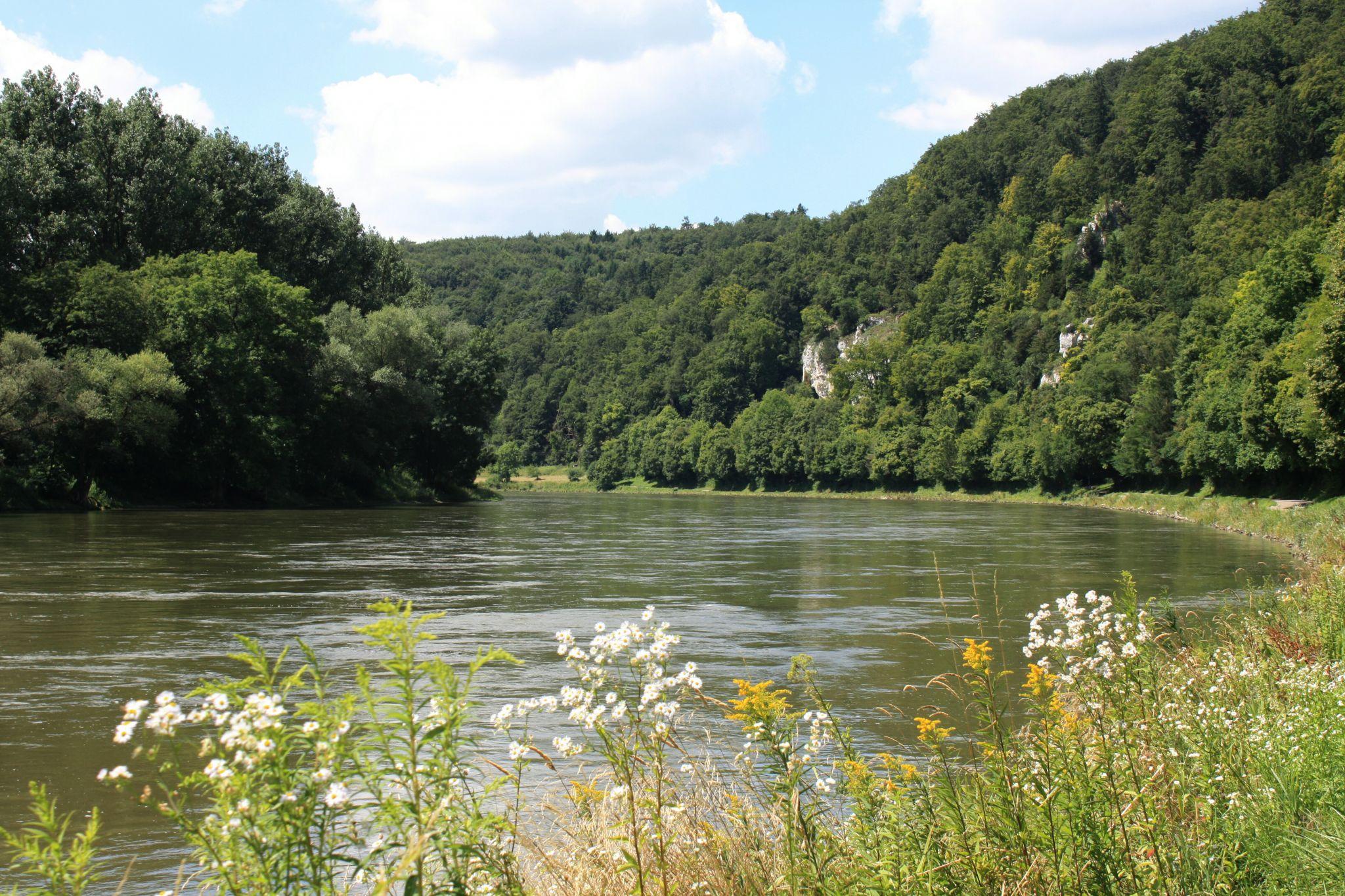 Donau bei Kehlheim, Germany