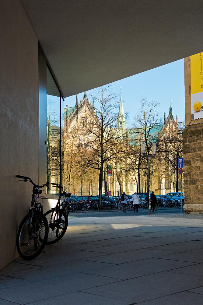 Durchblick auf den Münsterschen Dom, Germany