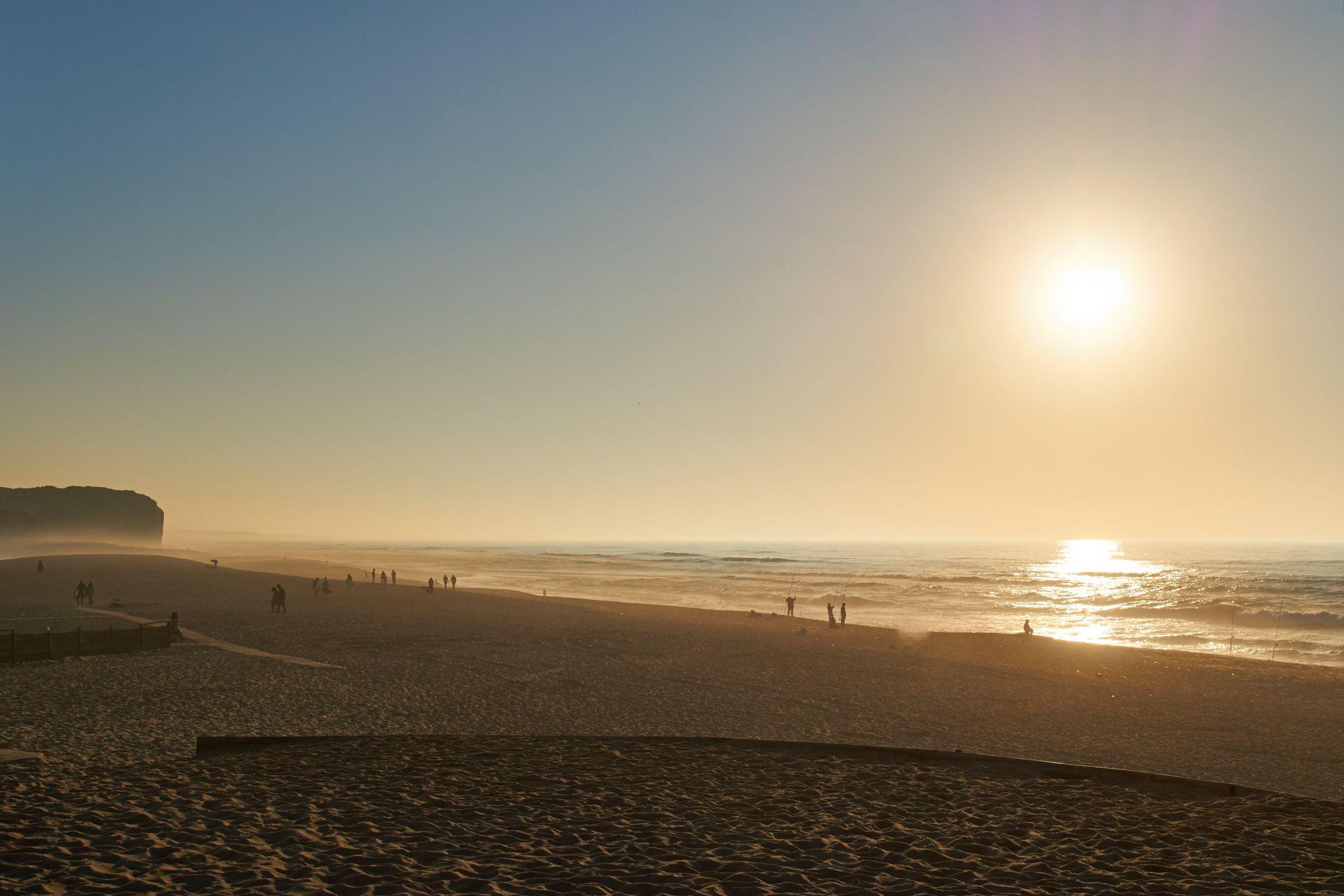 Foz do Arelho Beach, Portugal