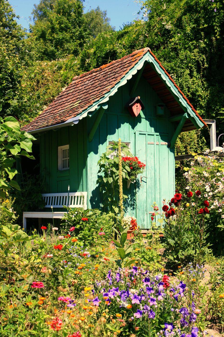 Garten in Mersburg, Germany
