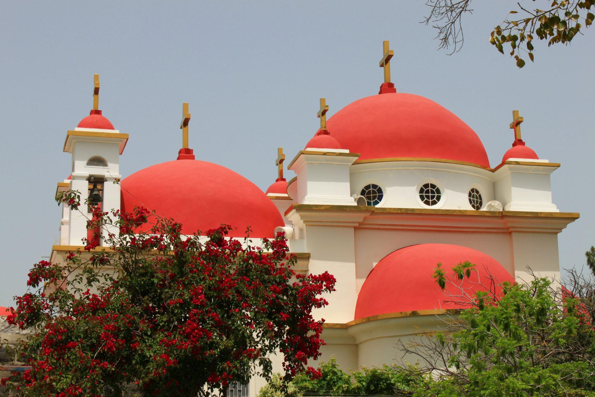 griechisch-orthodoxe Kirche in Kafarnaum, Israel