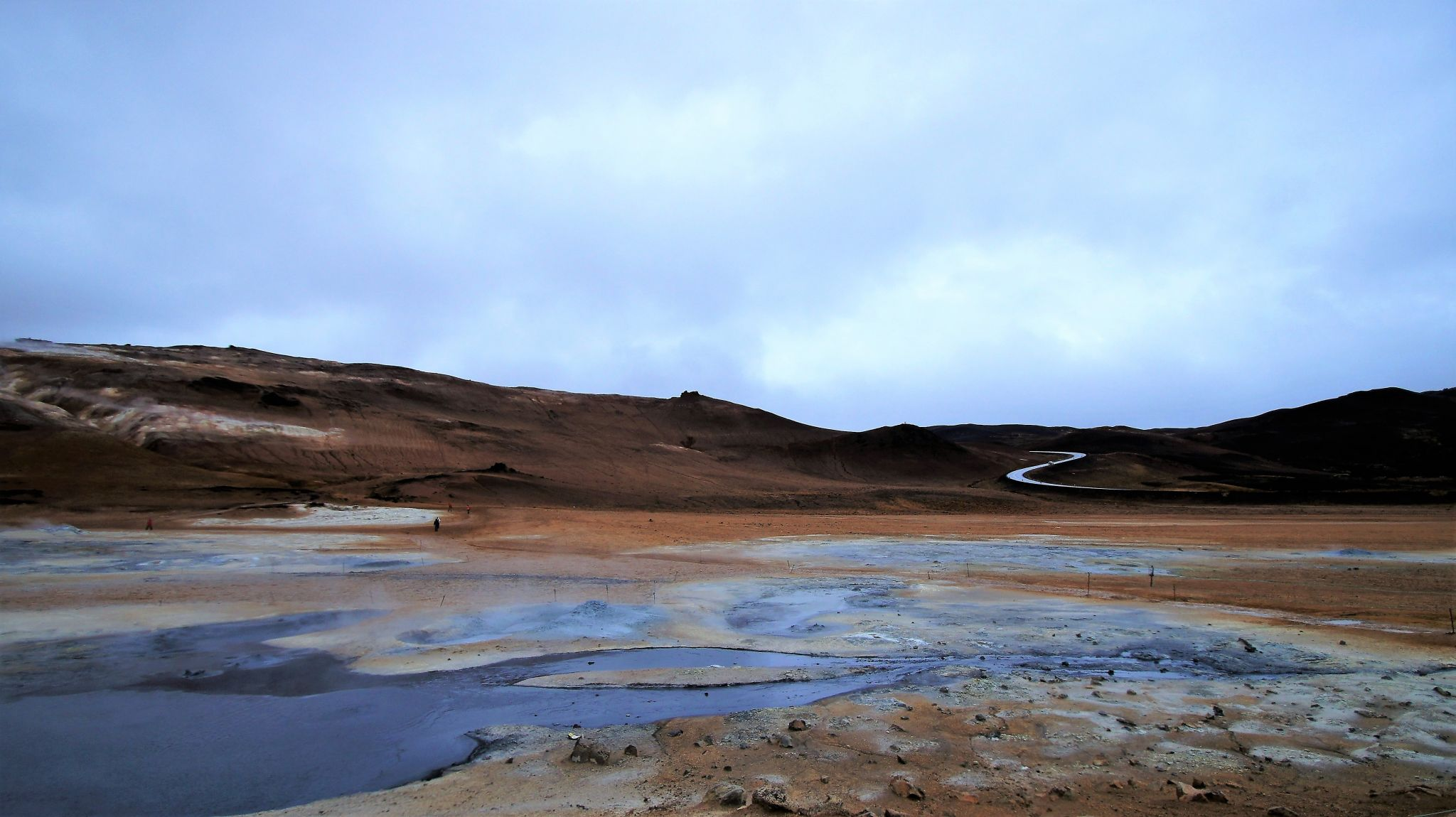 Hverir, the place is not like on earth, Iceland