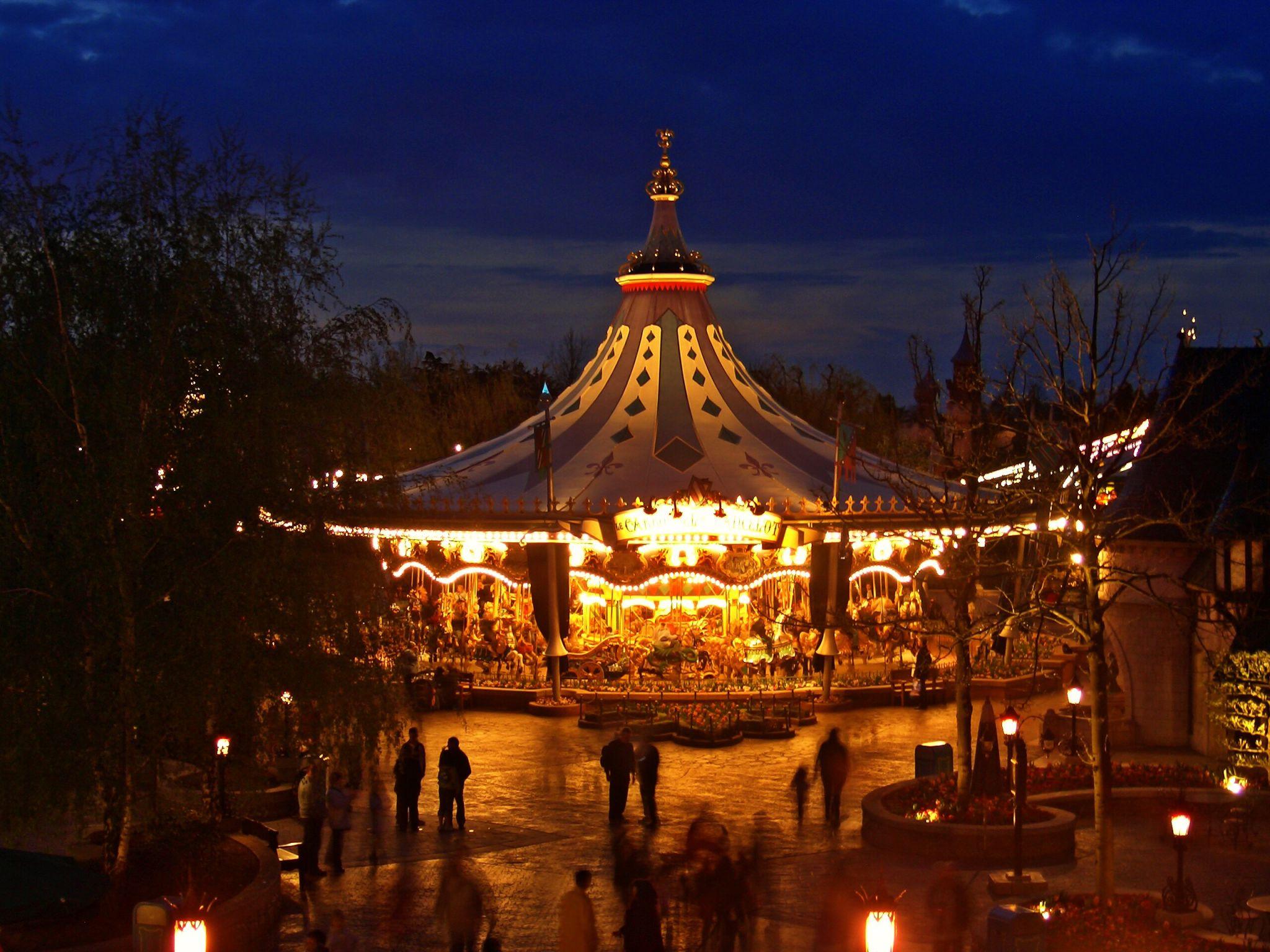 im Disneyland, France