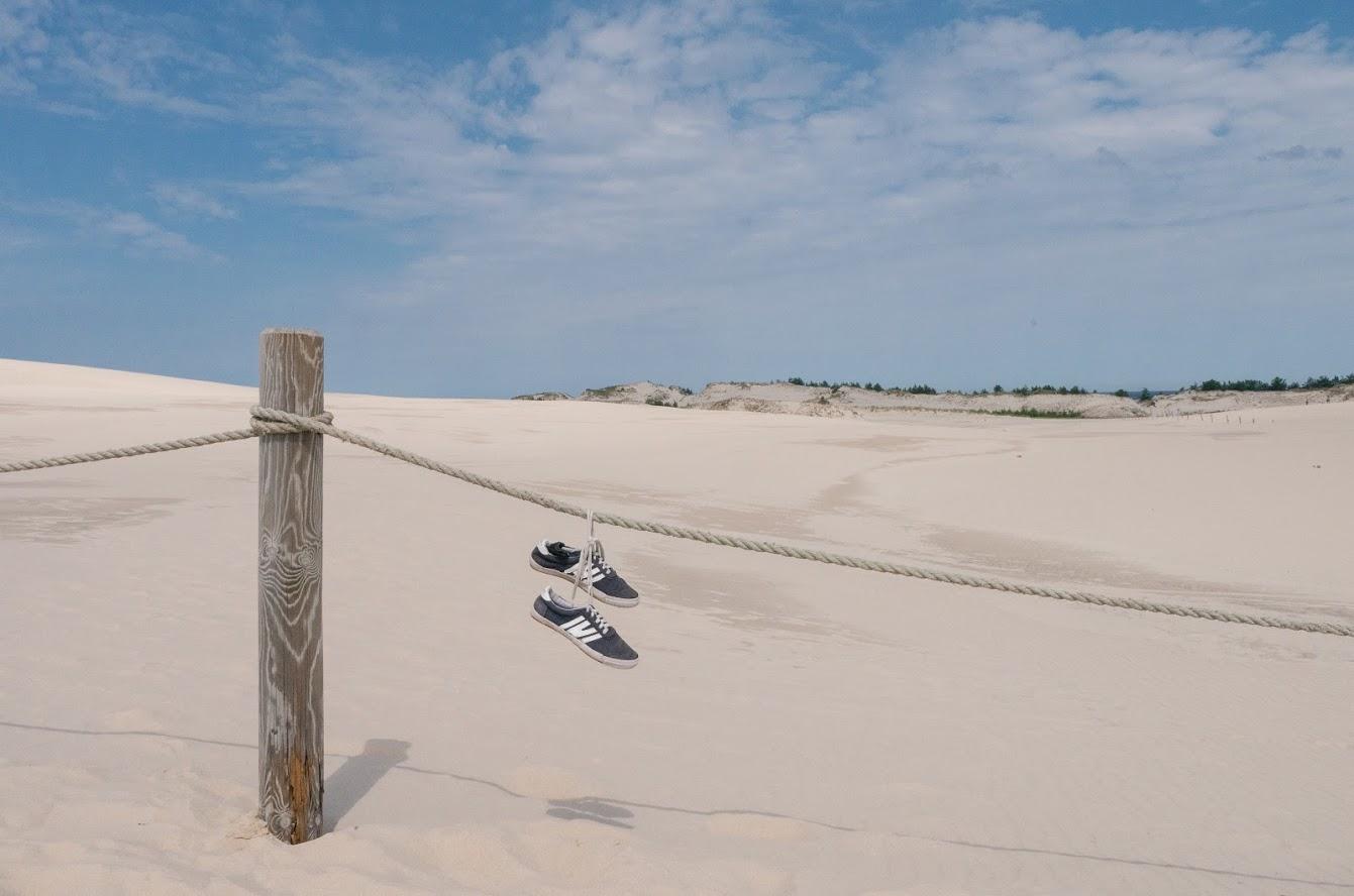 Leba, dunes, Poland