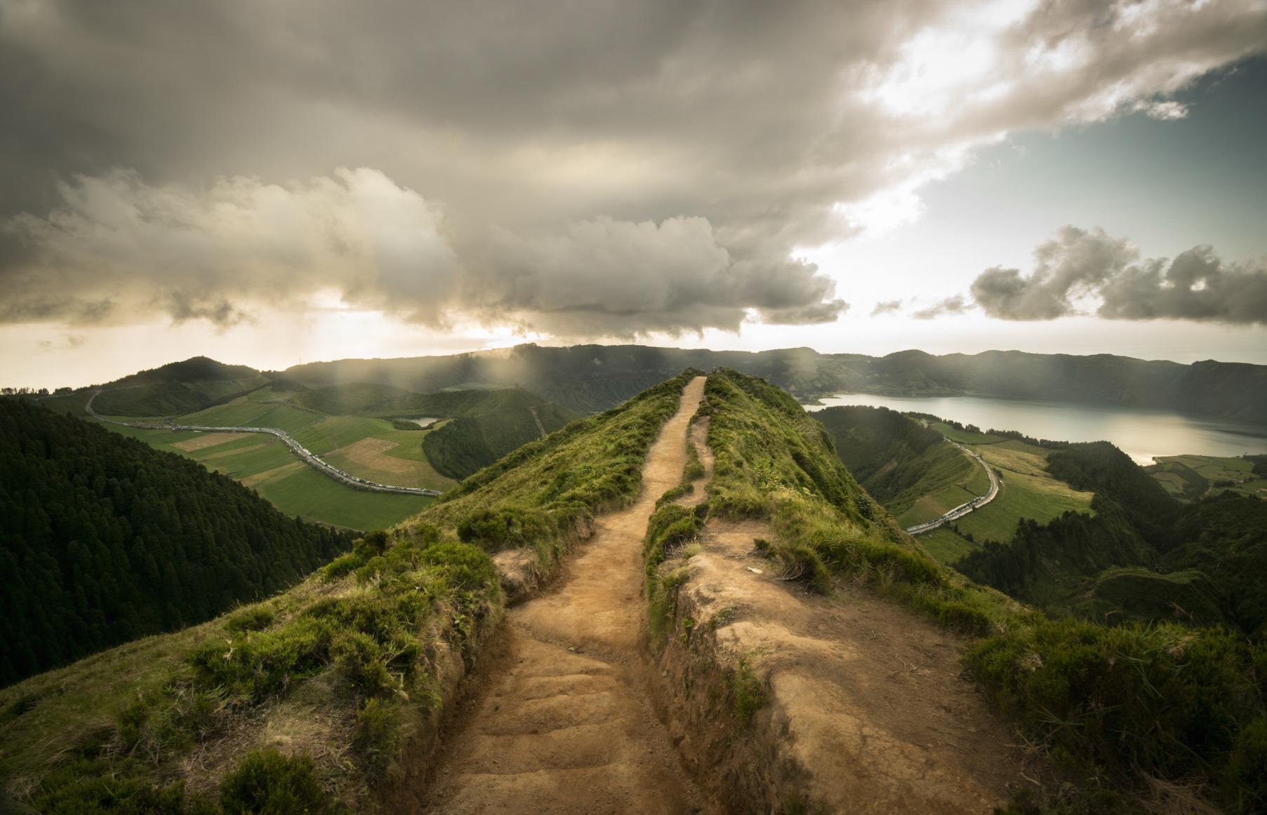 Miraduoro da Grota do Inferno, São Miguel, Açores Portugal, Portugal