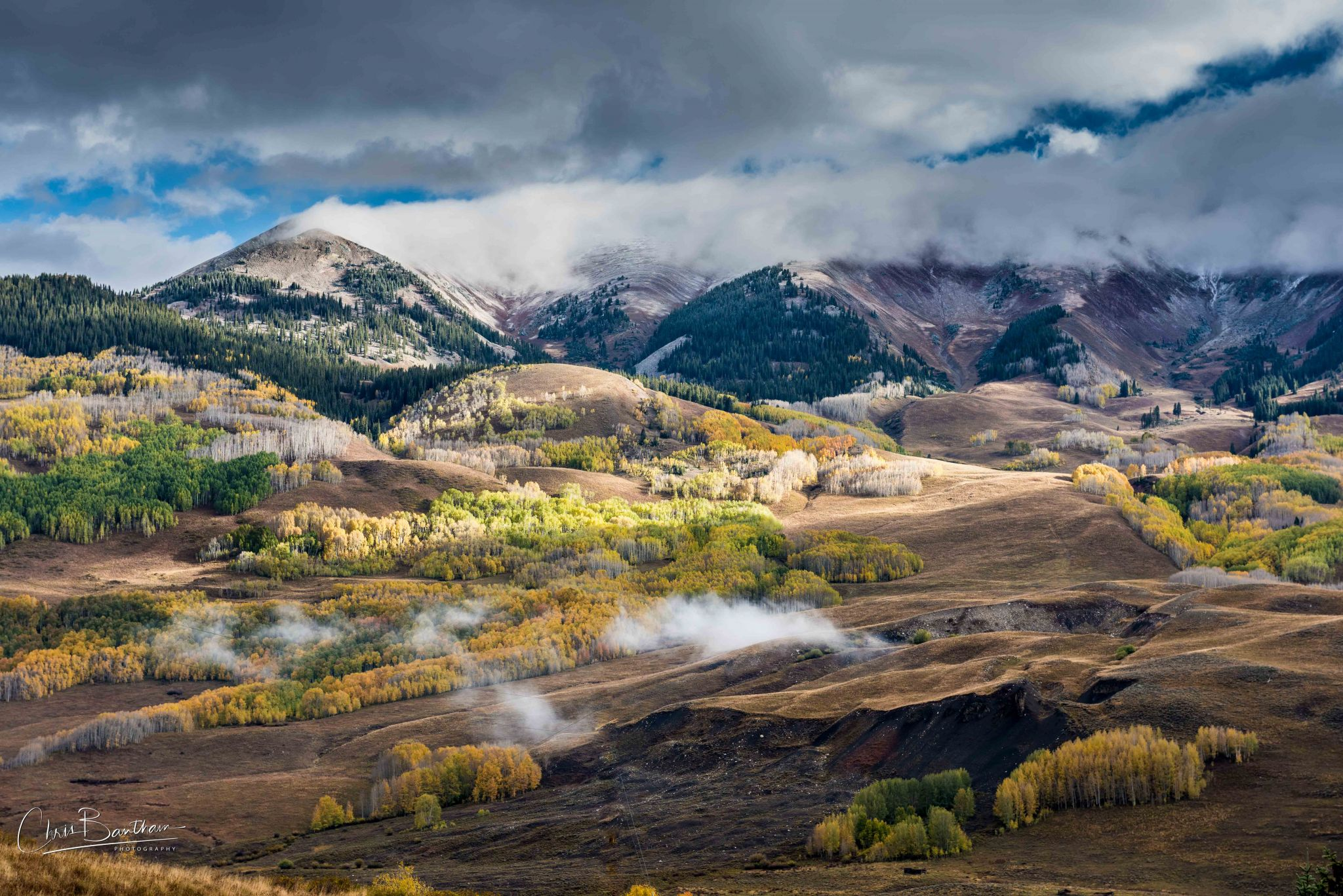North of Mt Crested Butte, USA