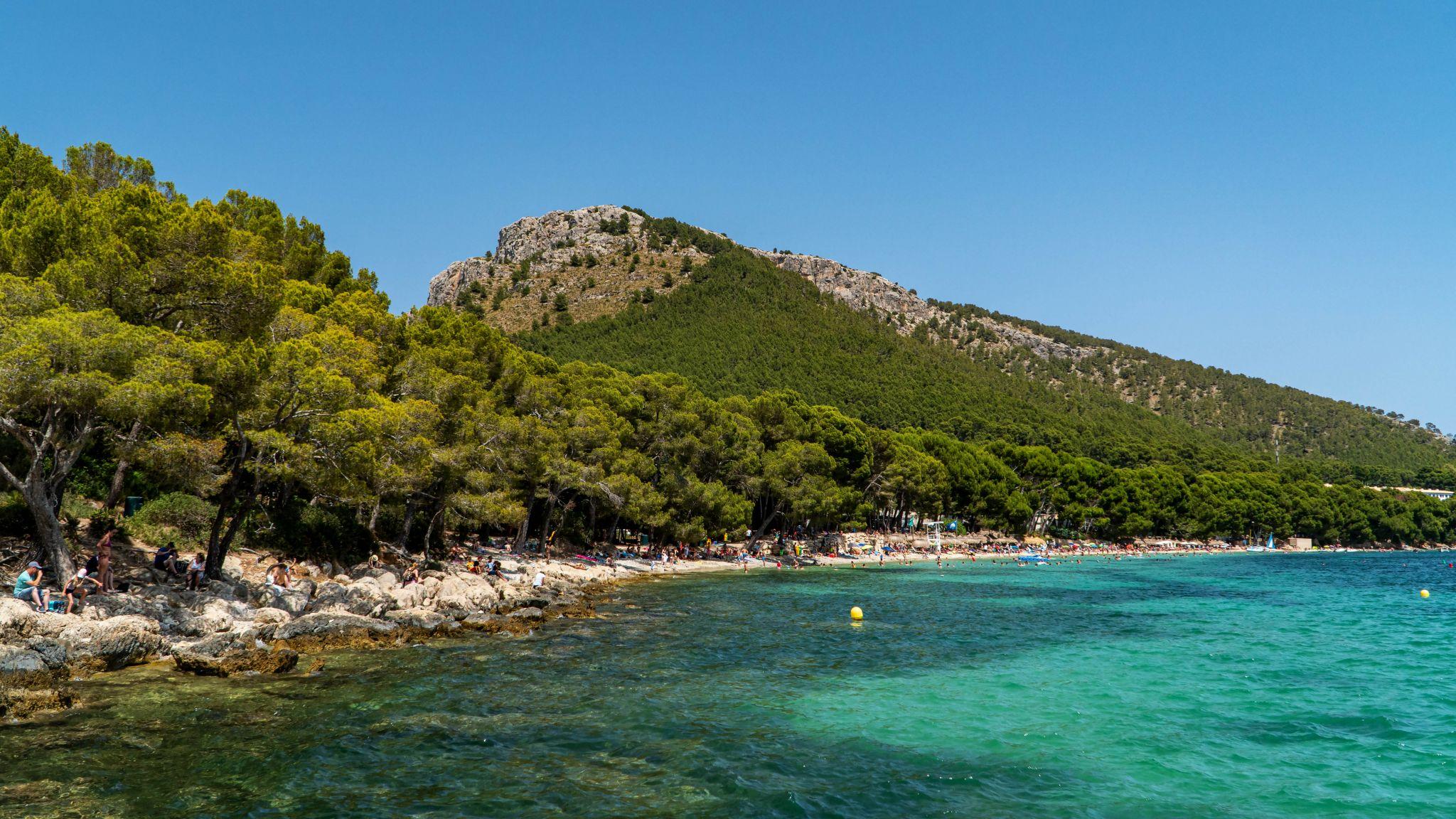 Platja de Formentor, Spain