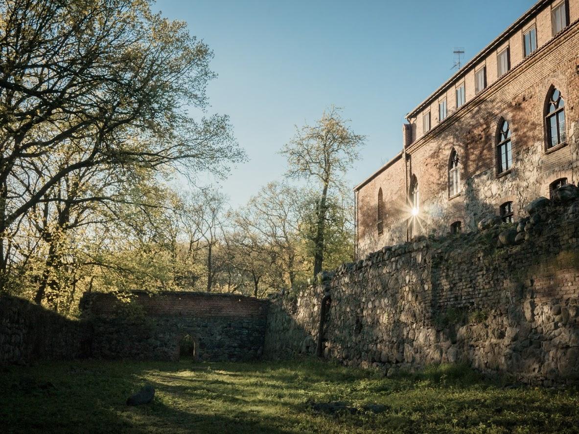 Poland, Bierzglowski Castle, Poland