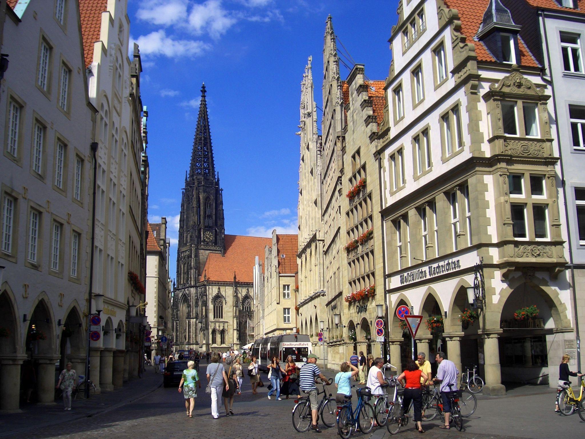 Prinzipalmarkt, Münster, Germany