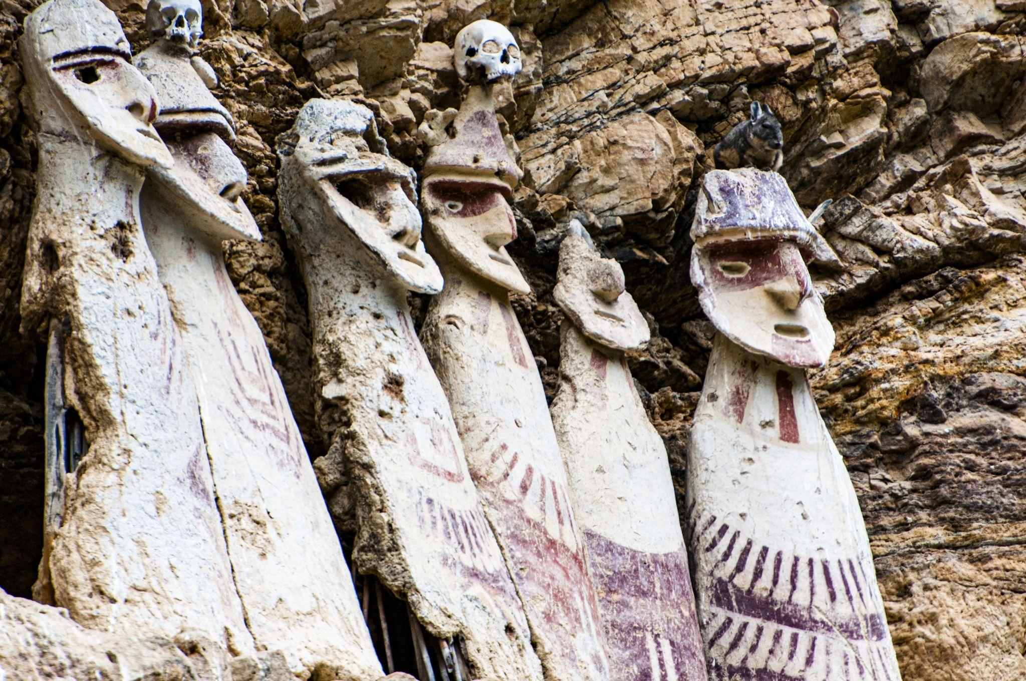 Sarcophagi of Karajia, Peru