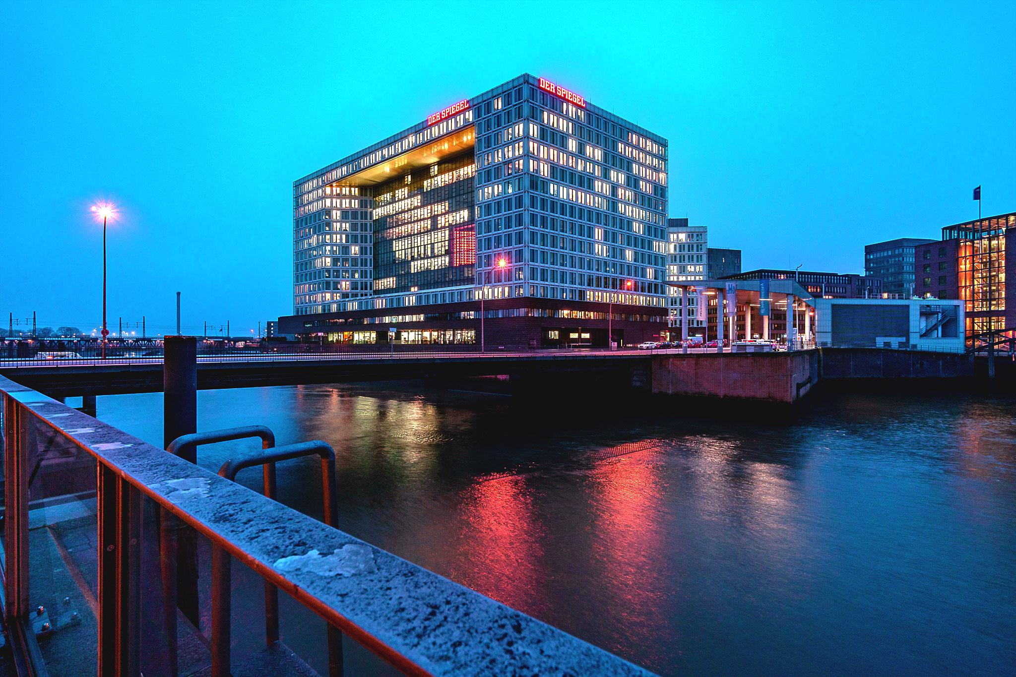 Spiegel Building Hamburg, Germany