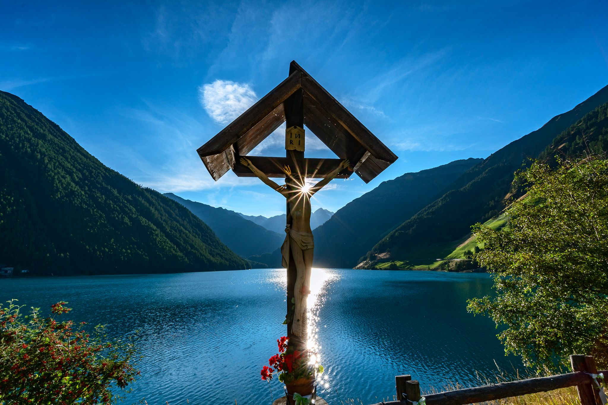 Stausee Vernagt, Italy