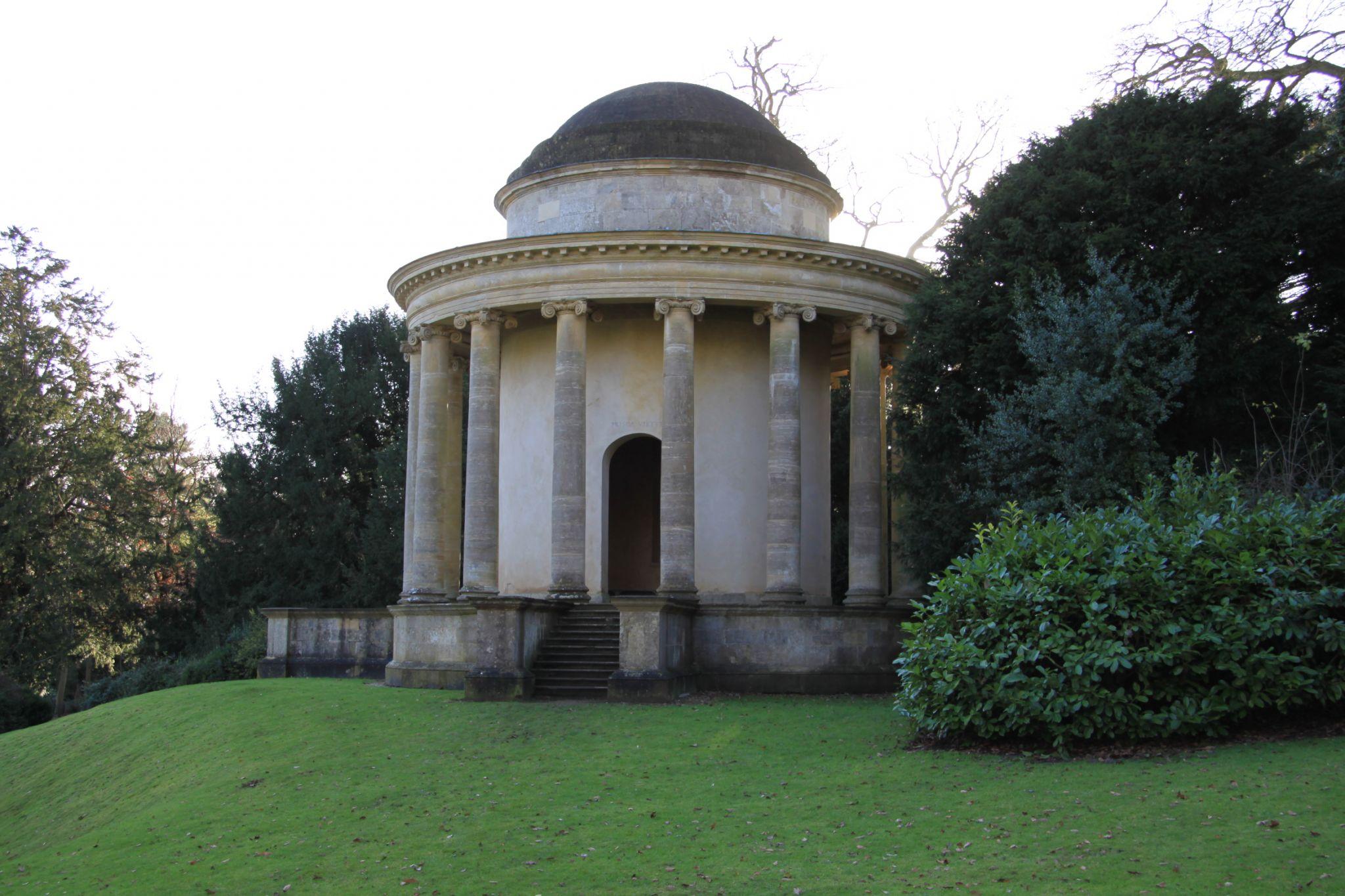 Stowe - Temple of Ancient Virtue, United Kingdom