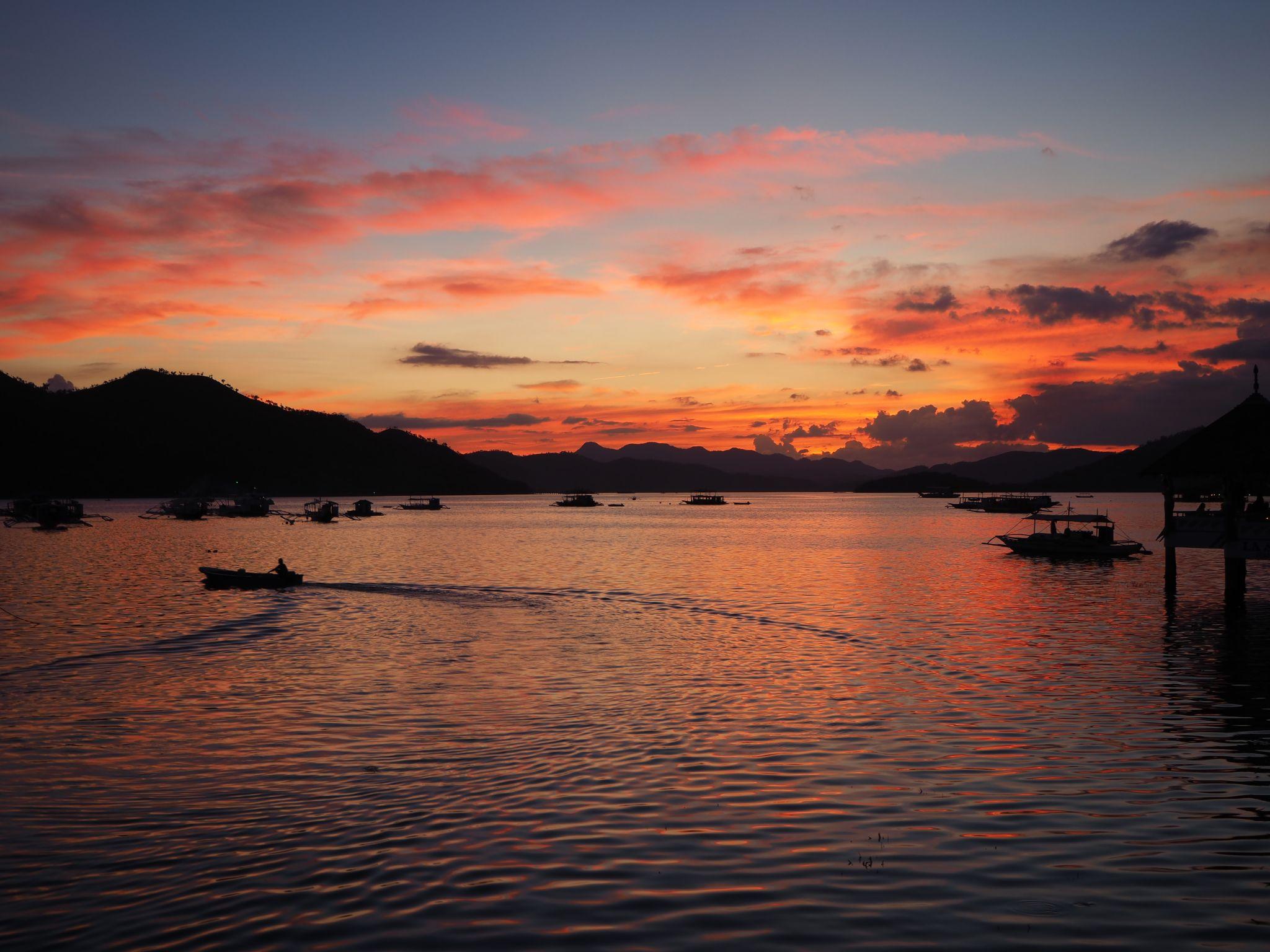 Sunset Coron, Philippines