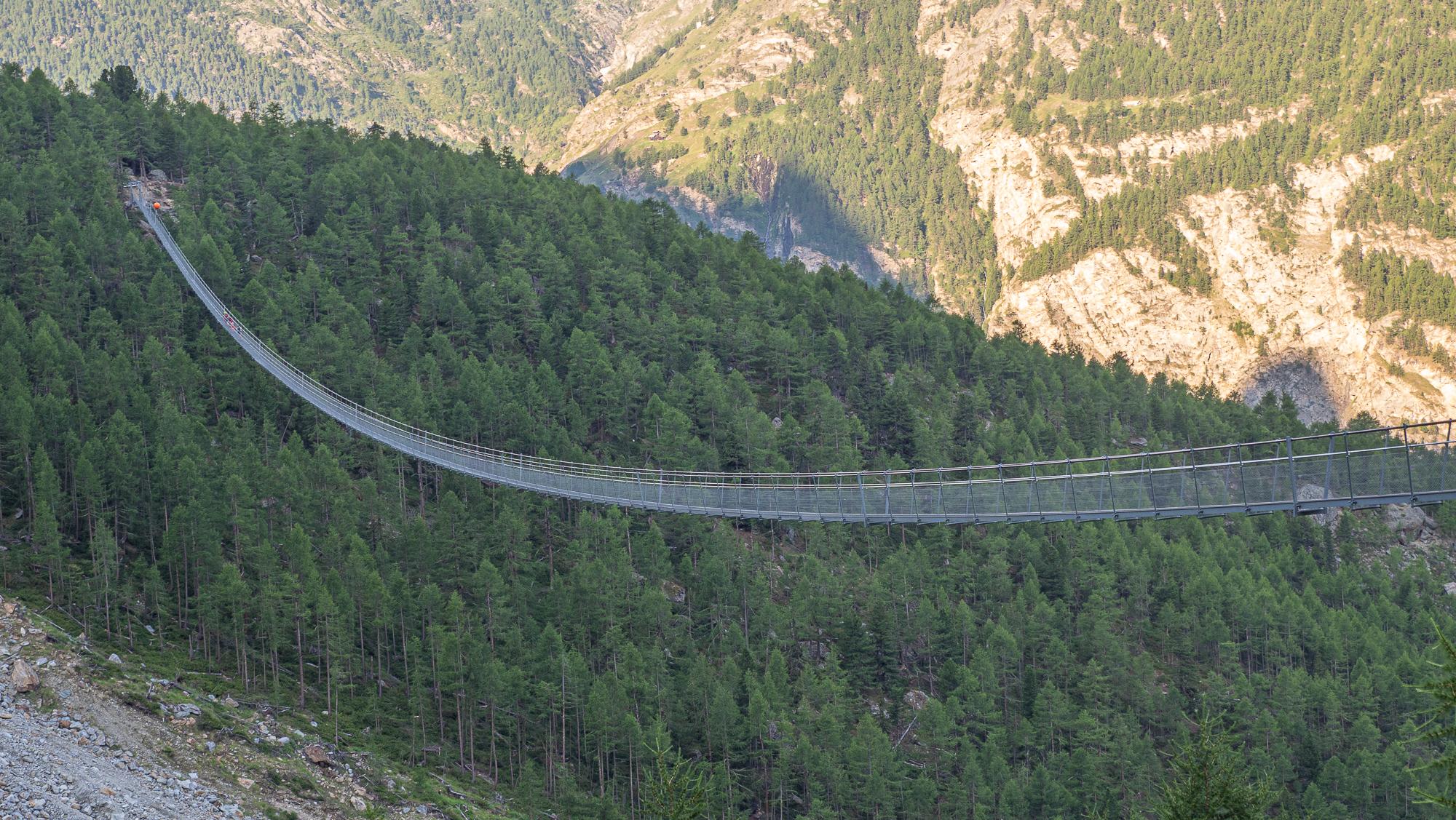 The Charles Kuonen Suspended Bridge, Switzerland