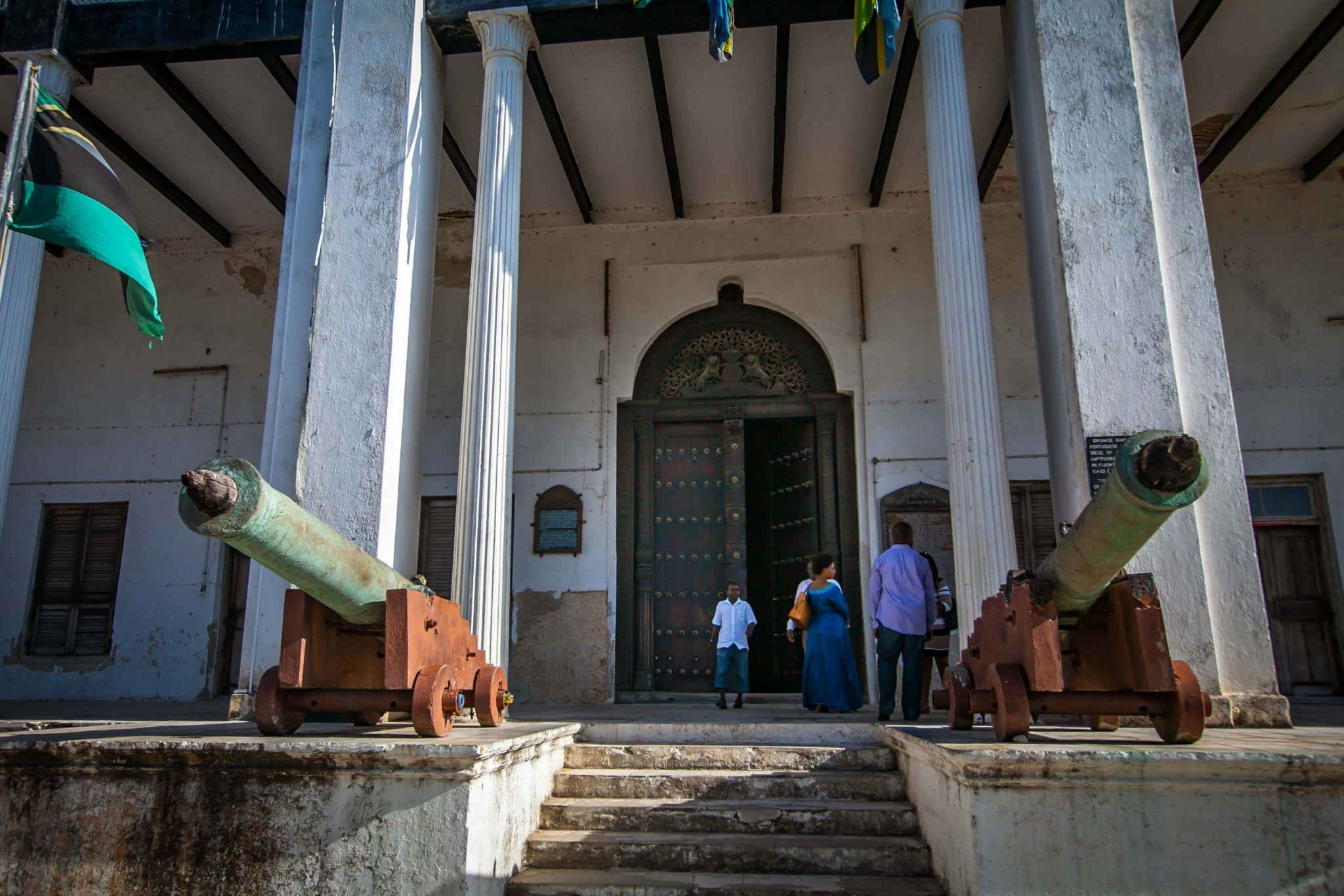 The House or Palace of Wonders  Stone Town Zanzibar, Tanzania