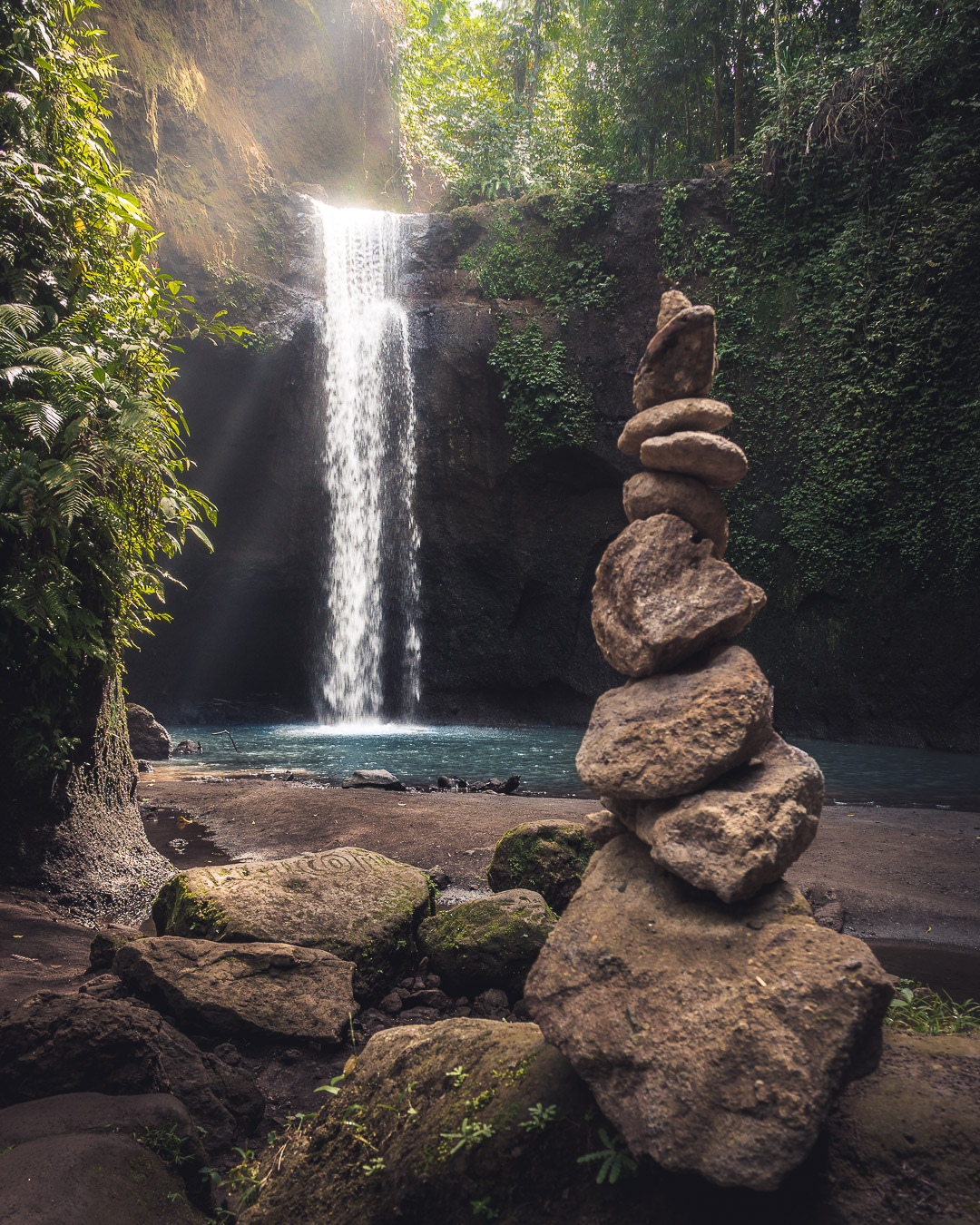 Tibumana Waterfall, Indonesia