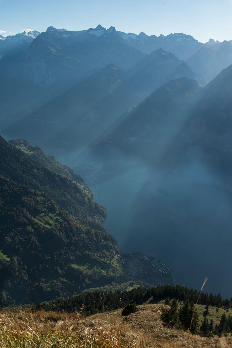Uri as seen from Fronalpstock, Switzerland