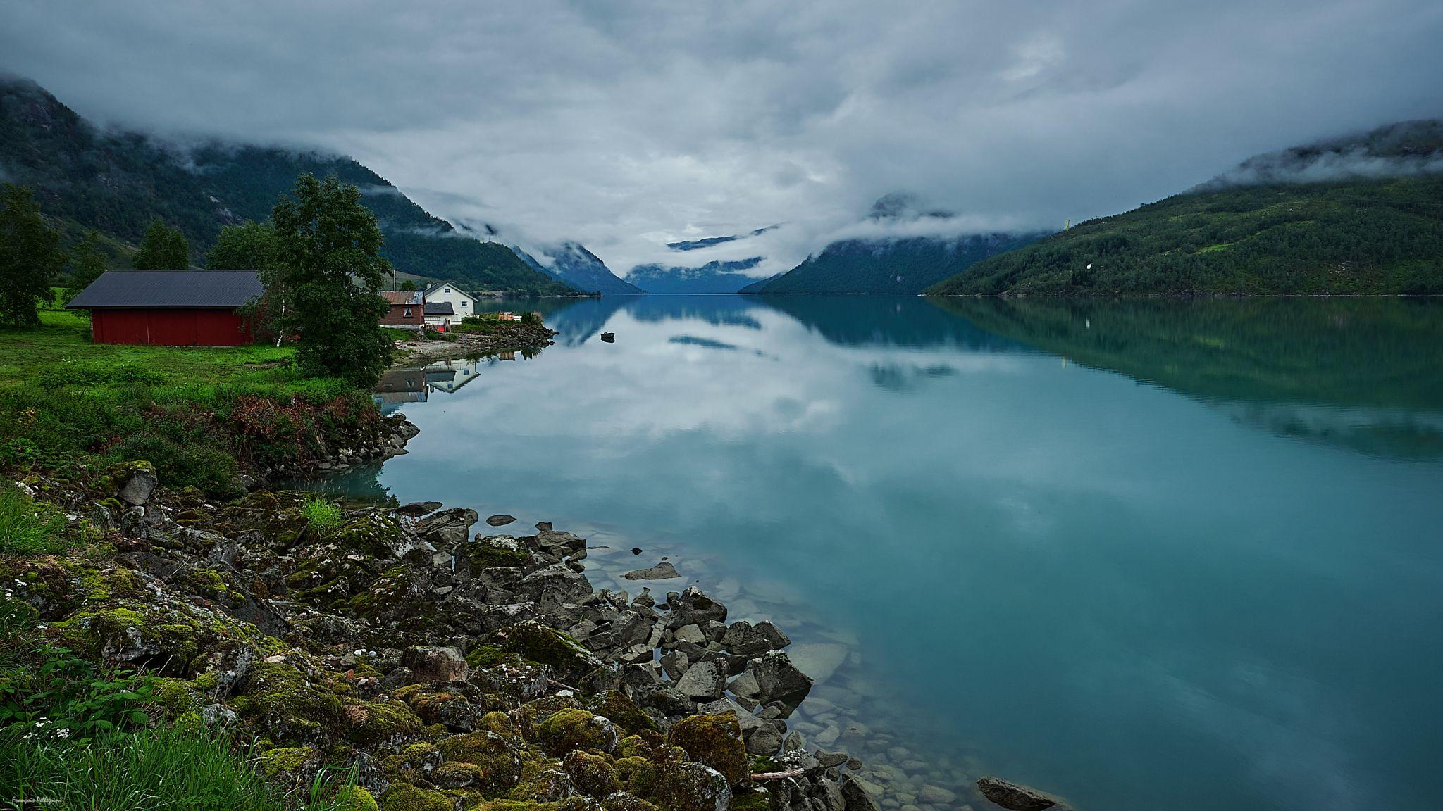 Veitastrondavatnet, Norway