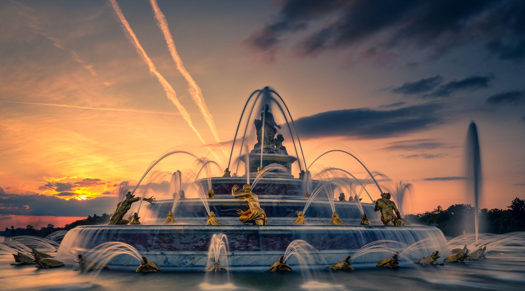 Versailles fountains, France