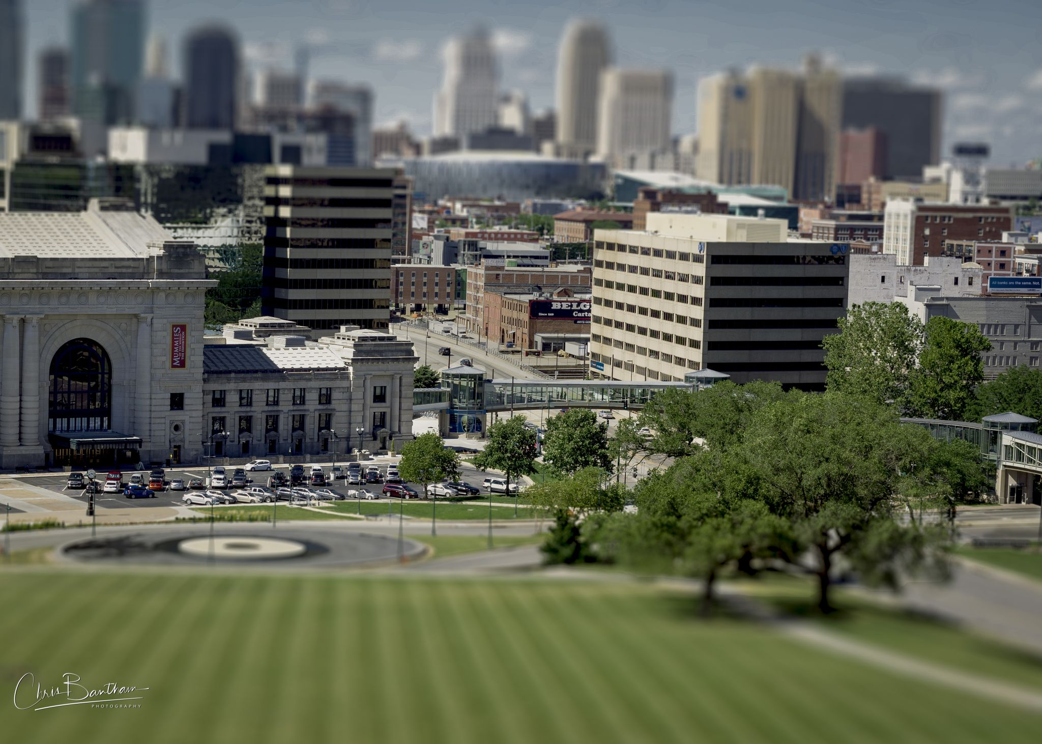 View of Kansas City Union Station, USA