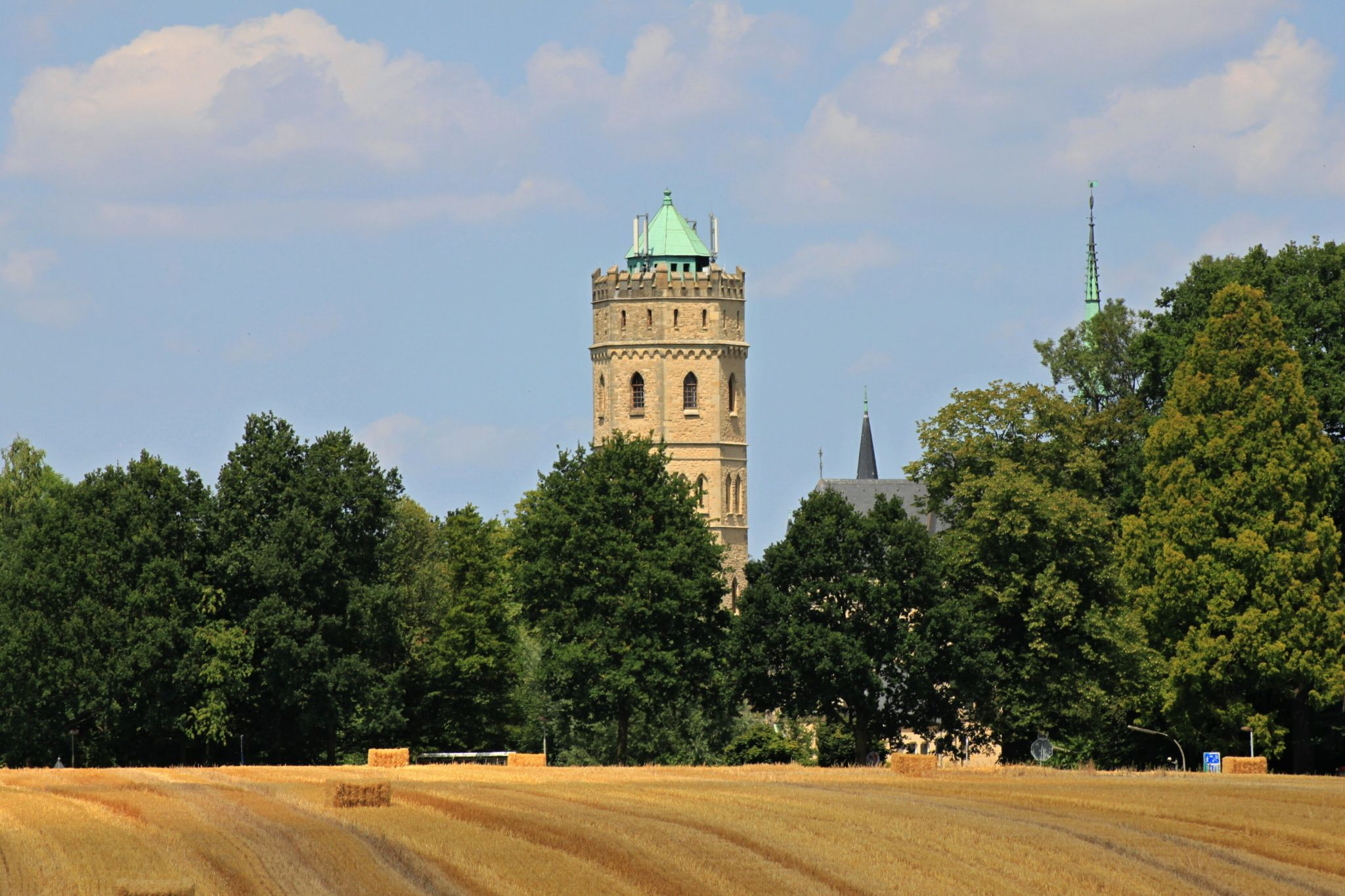 Wasserturm im Stift Tilbeck, Germany