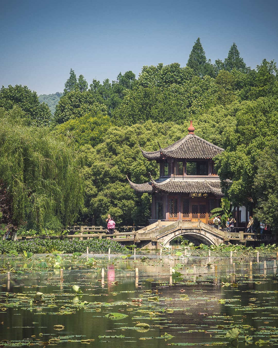 West Lake Area Hangzhou, China