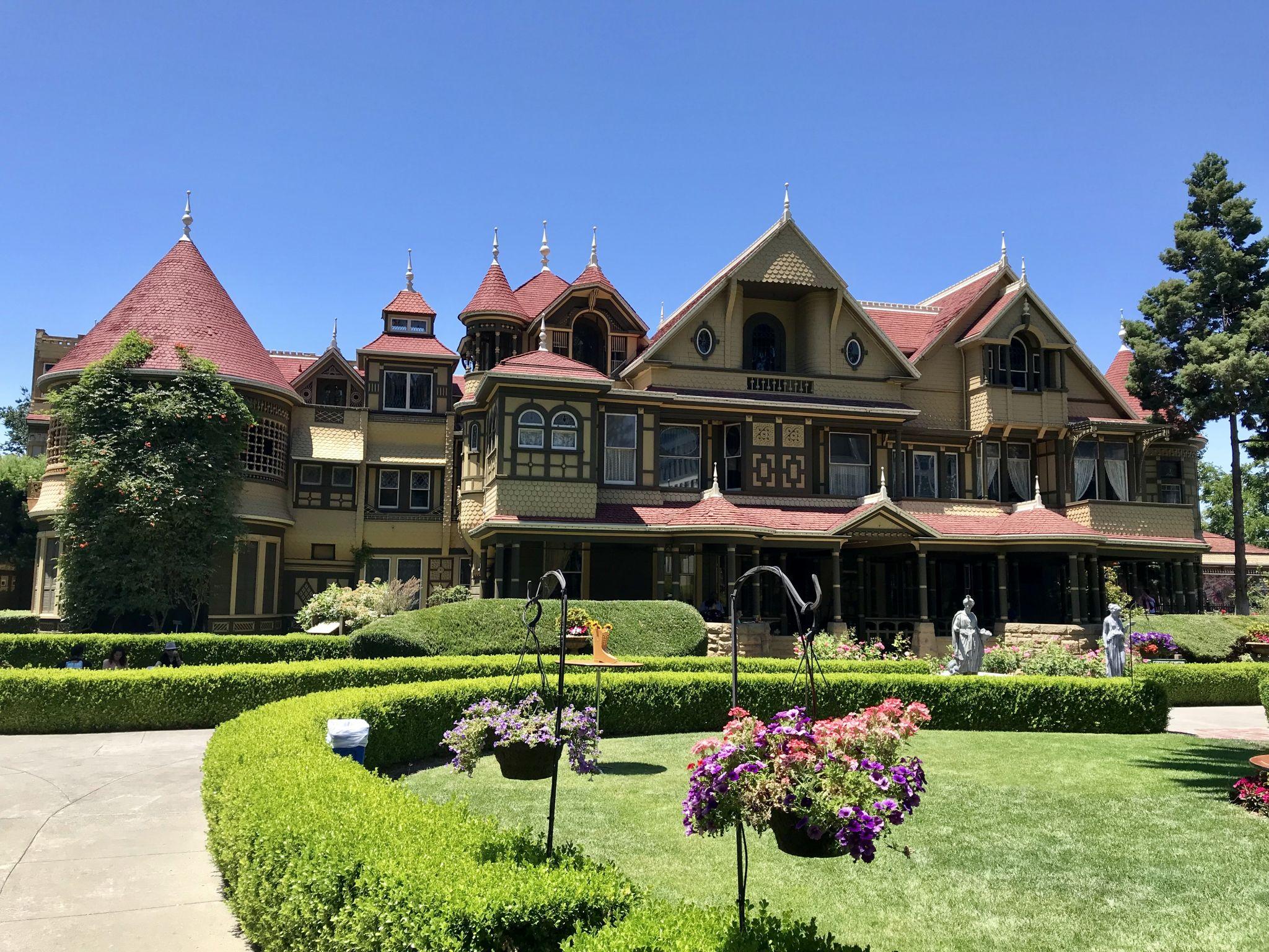Winchester mystery house, California, USA