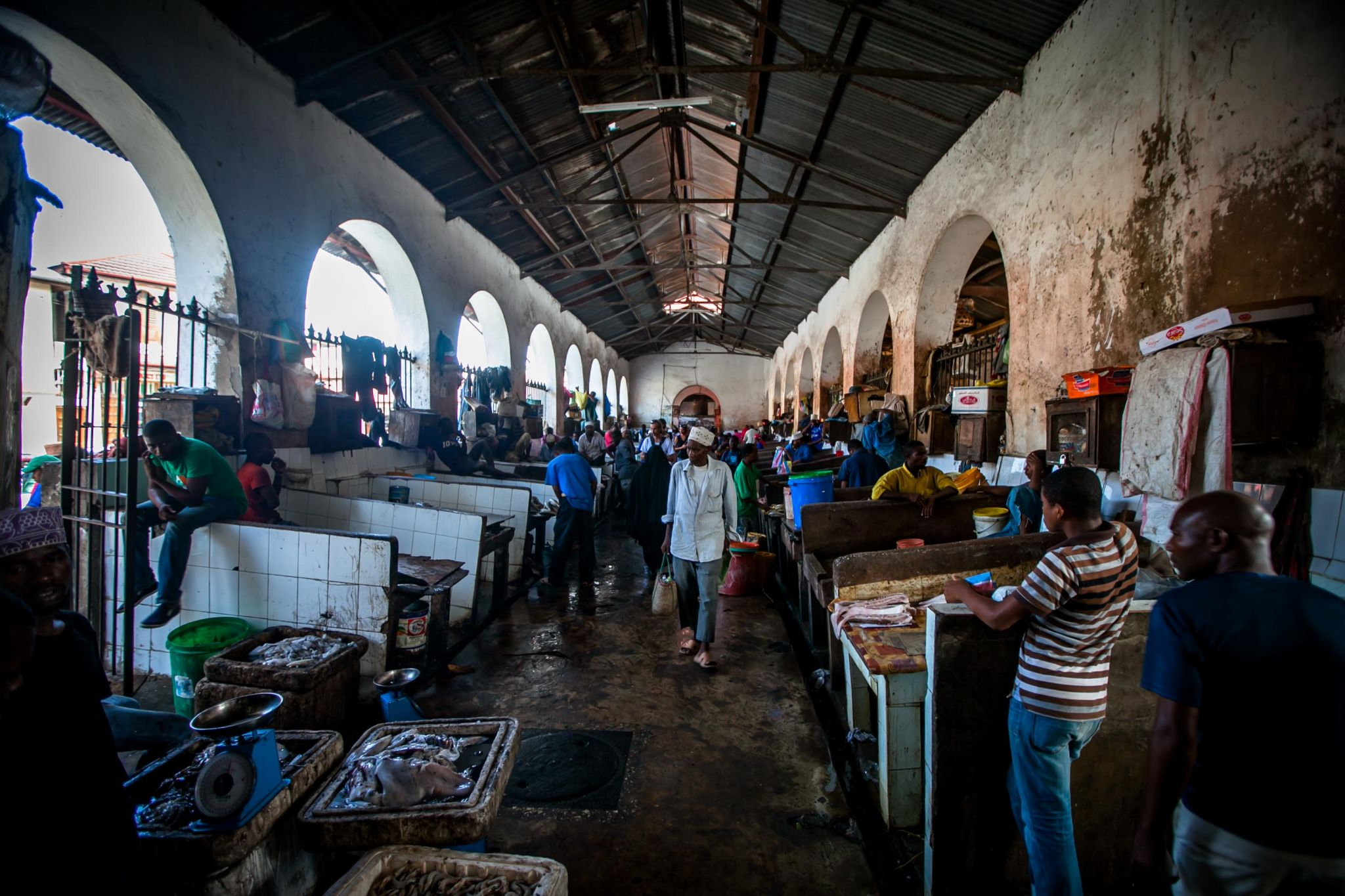 Zanzibar Stonetown Fish Market, Tanzania