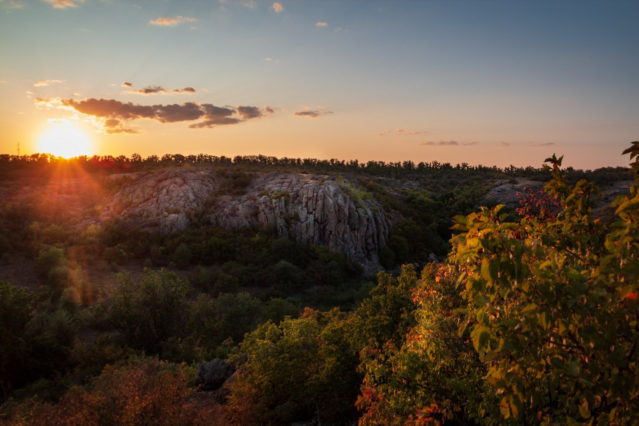 Aktove Canyon, Ukraine