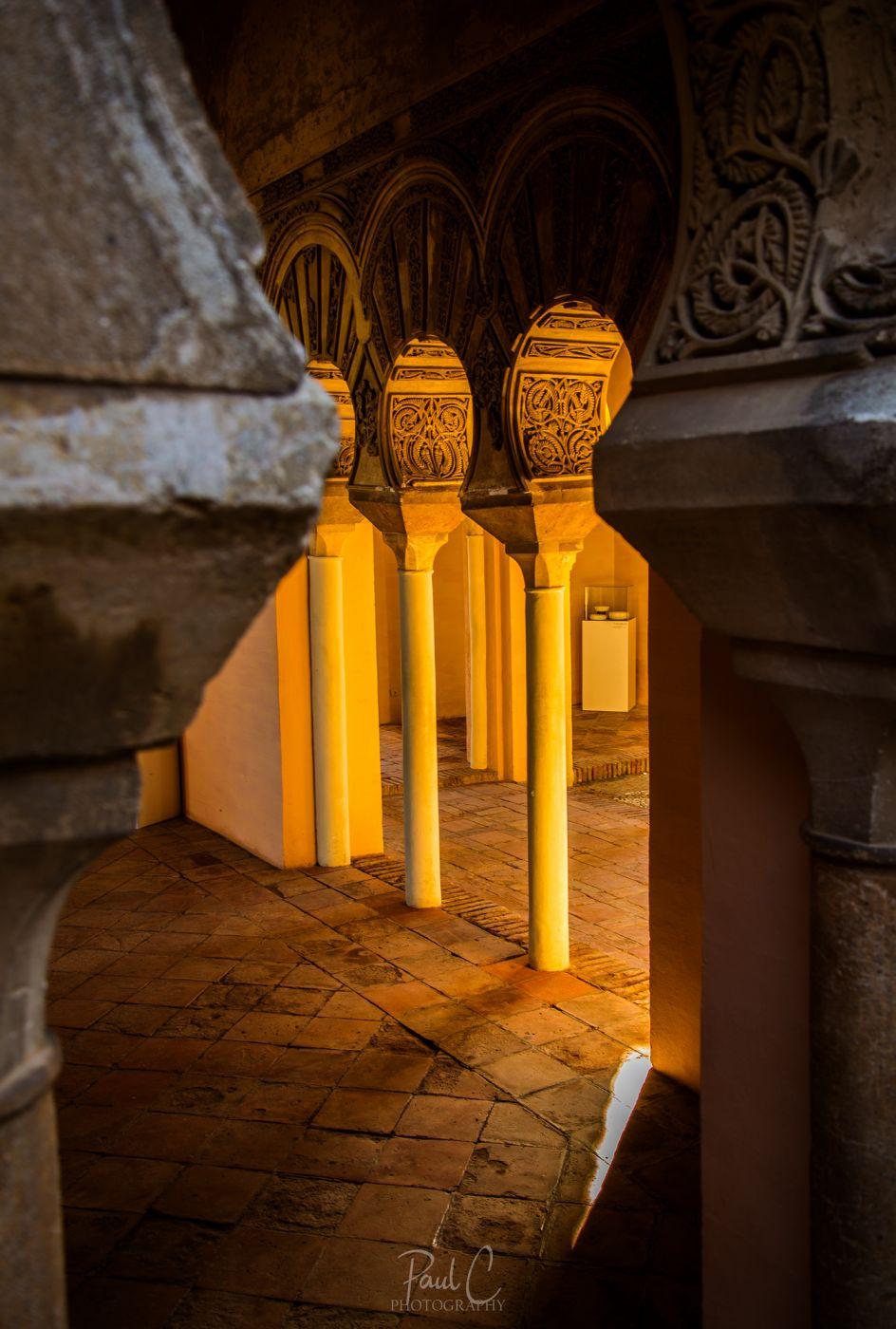 Alcazaba of Málaga, Spain