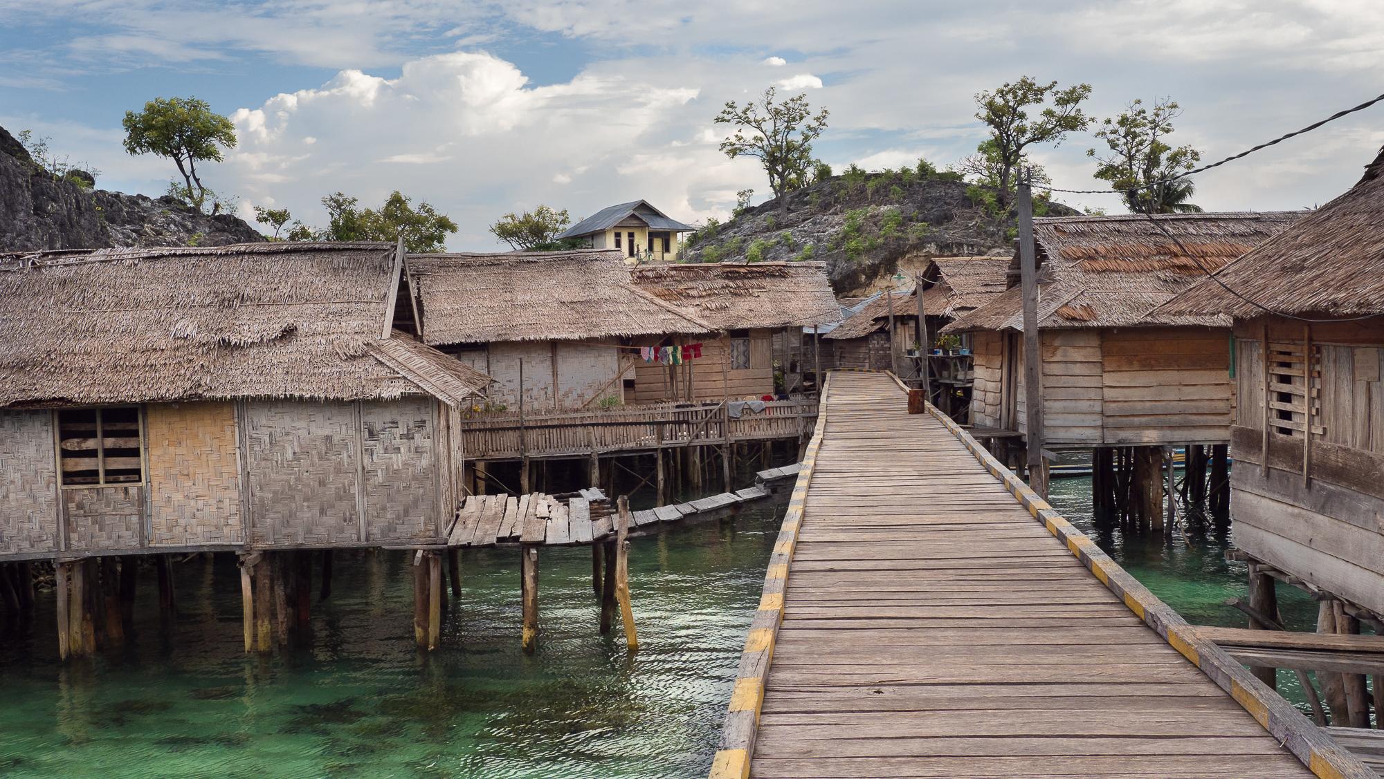 Bajo village (sea gipsy), Indonesia