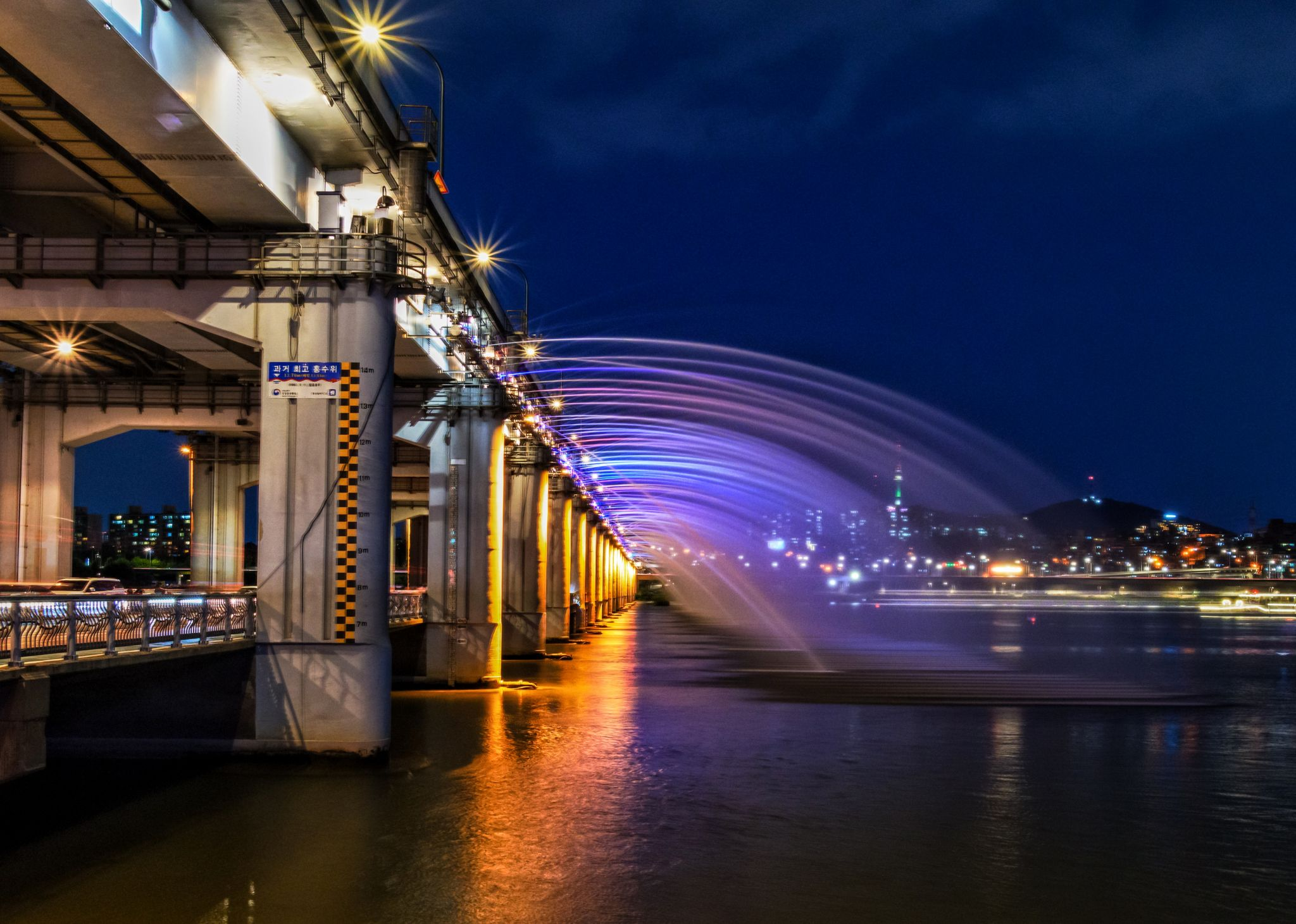 Banpo Bridge, Korea