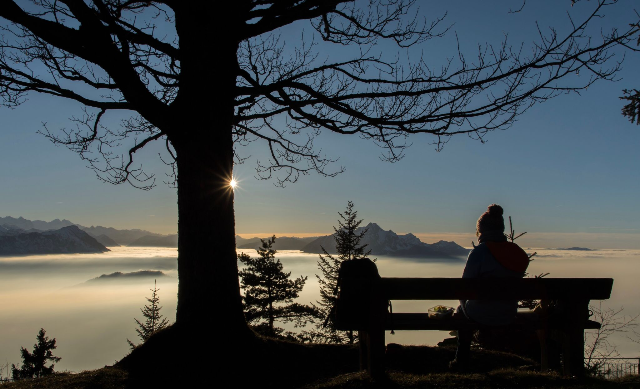 bench with a view, Switzerland