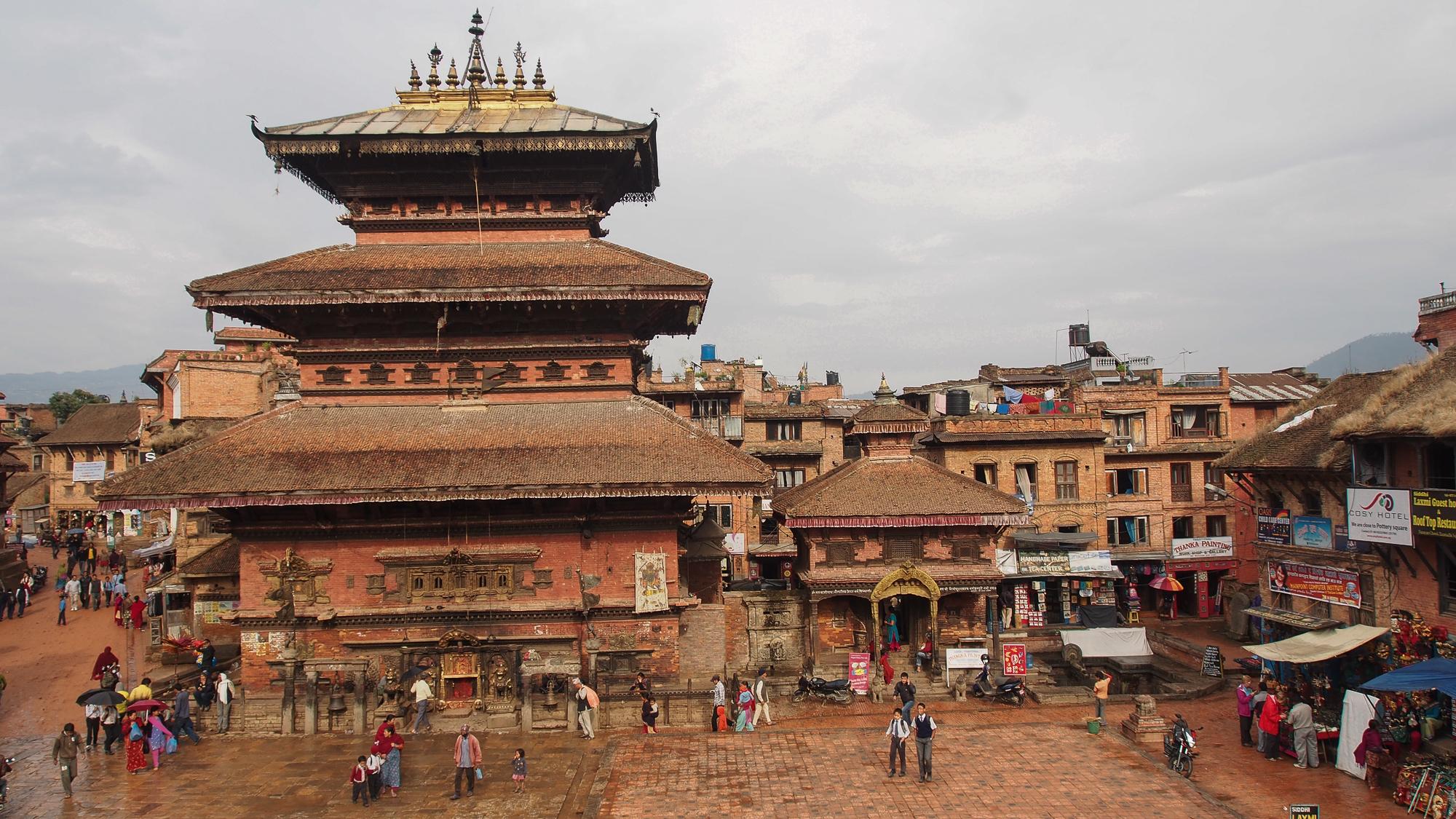 Bhaktapur, Bhairavnath Temple, Nepal