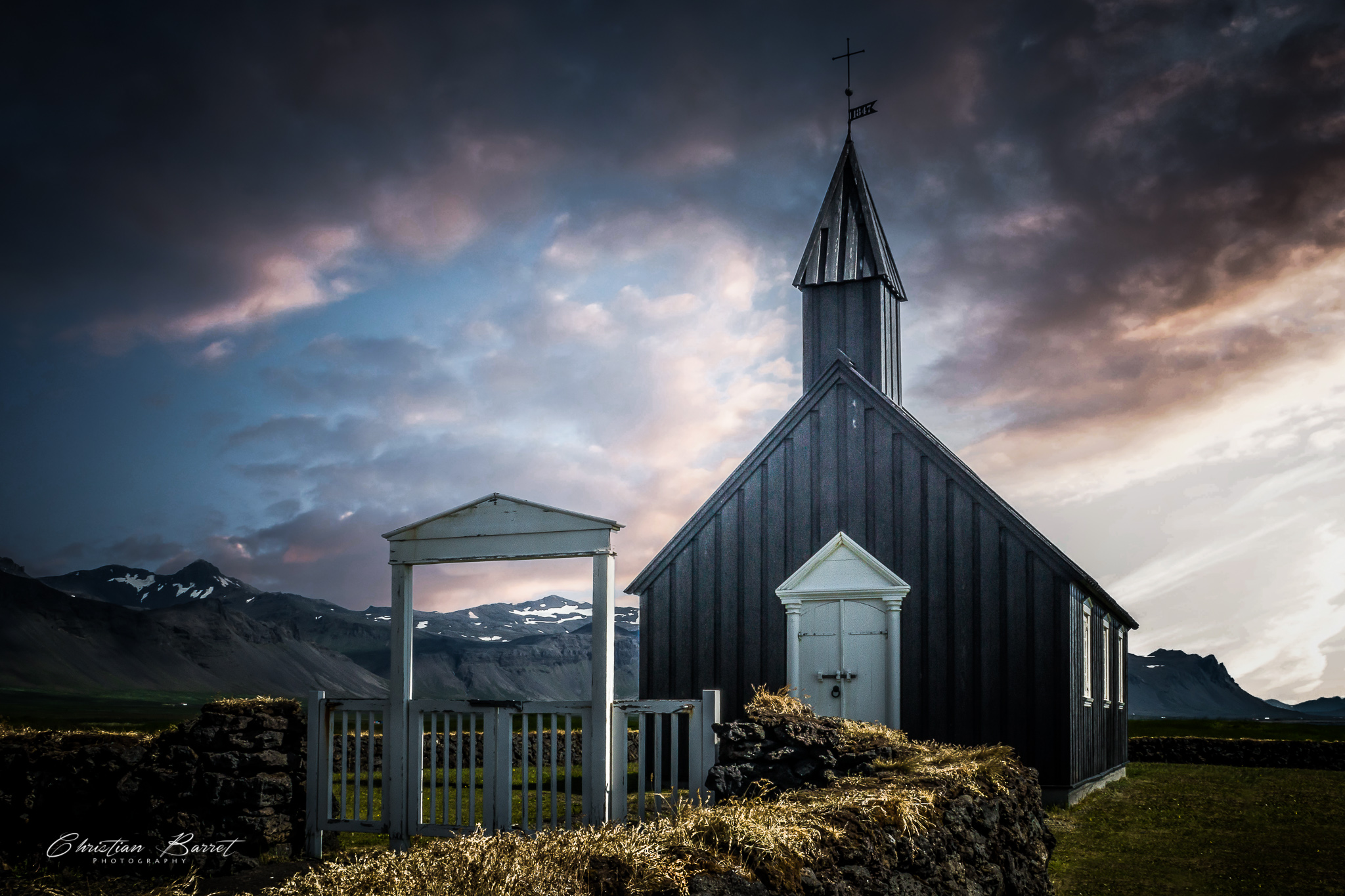 Búðakirkja - The black church., Iceland