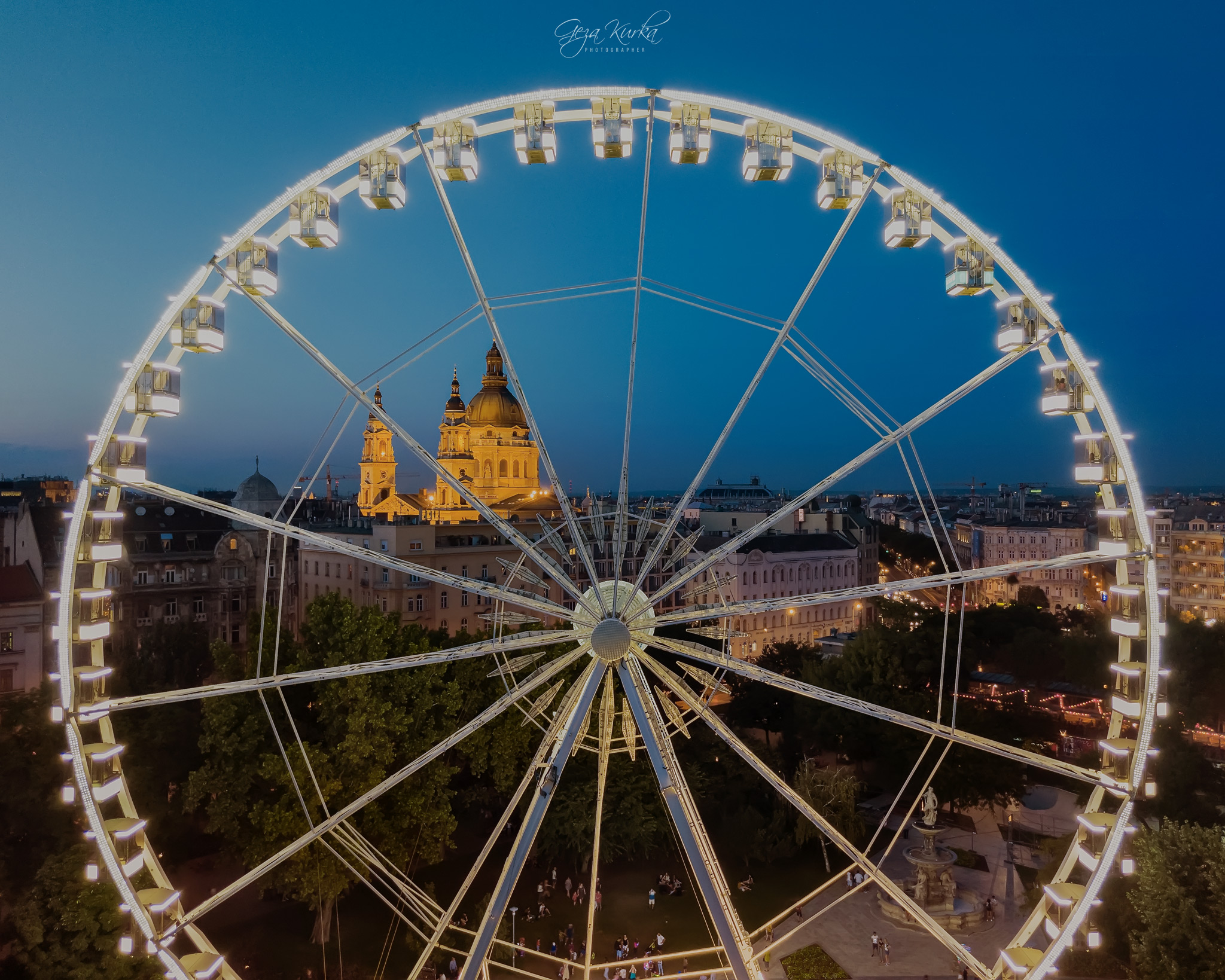 Budapest Eye Ferris wheel, Hungary