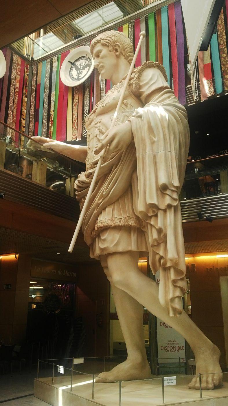 Caesar Augusto Giant Sculpture, Spain