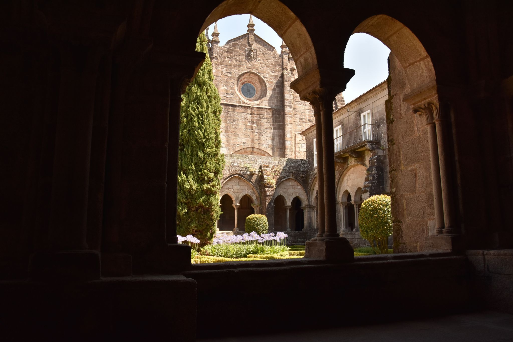 Cathedral cloister, Spain