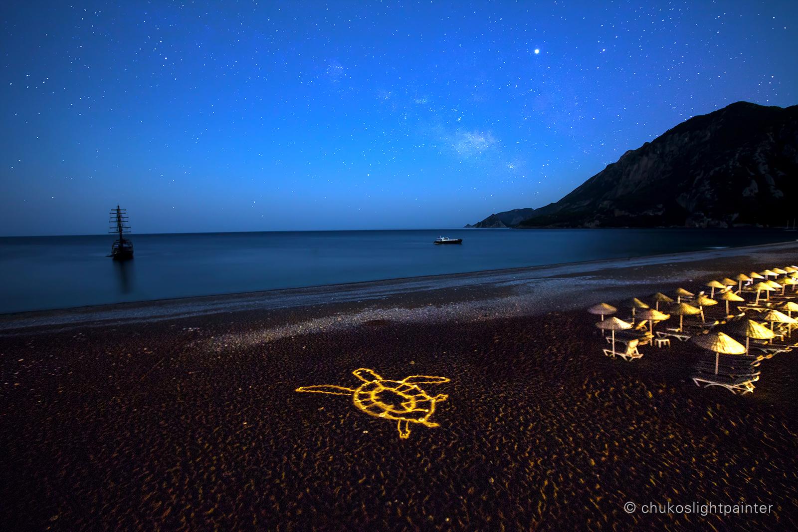 Cirali beach, Turkey, Turkey