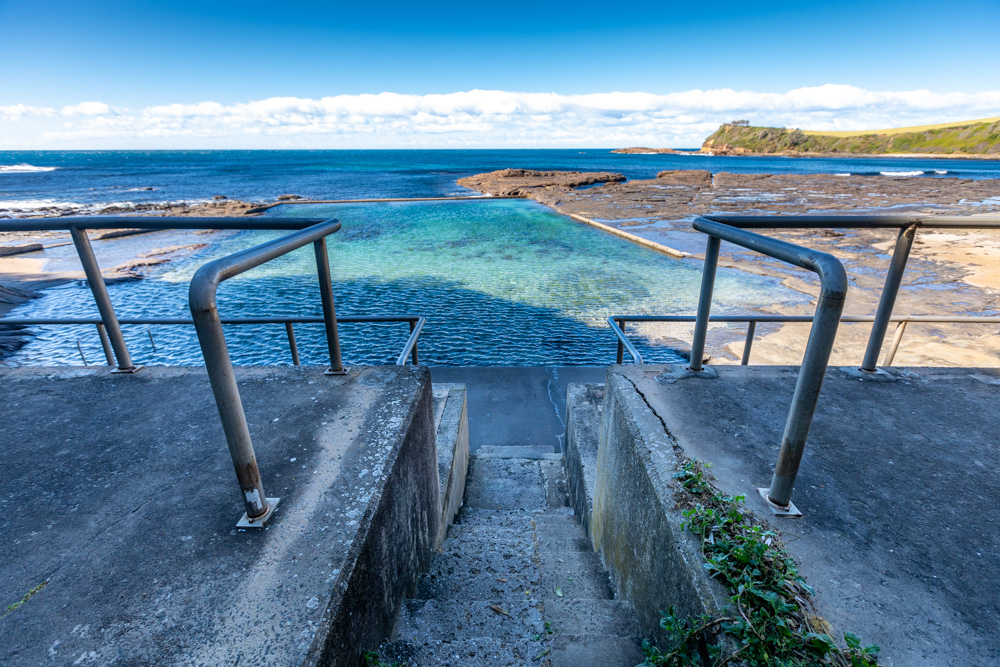 Cooke Park Ocean pool Gerringong New South Wales, Australia