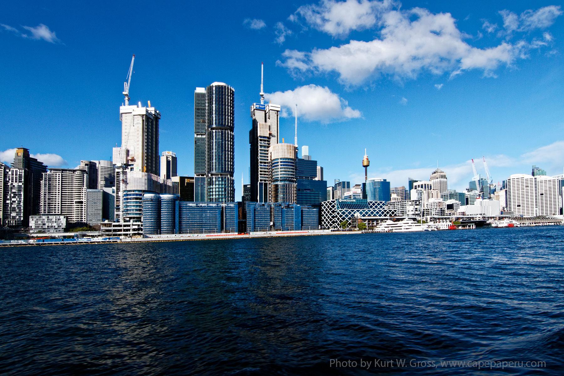 Darling Harbour Wharf, Sydney, Australia