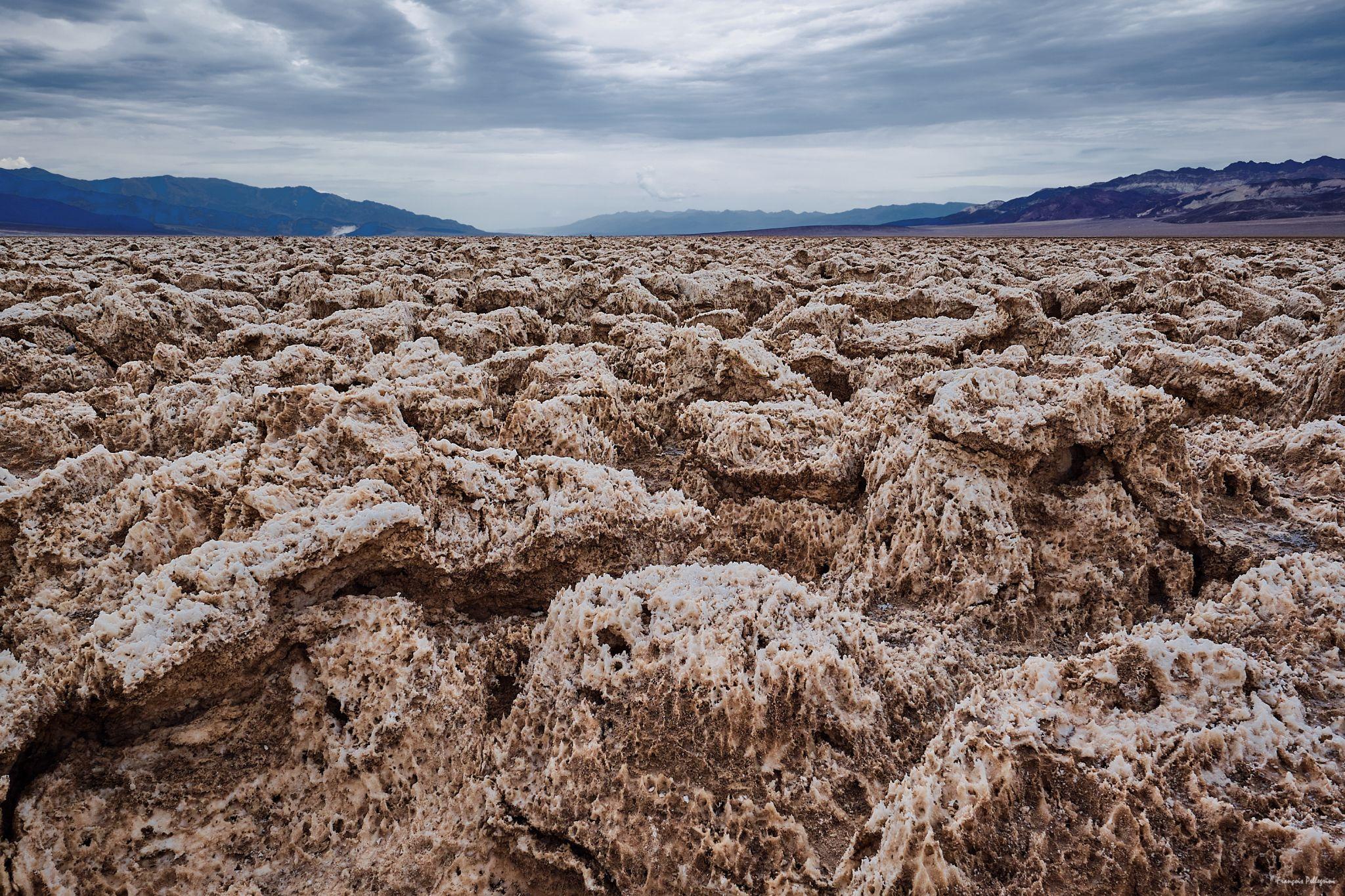 Devil's Golf Course, Death Valley, USA
