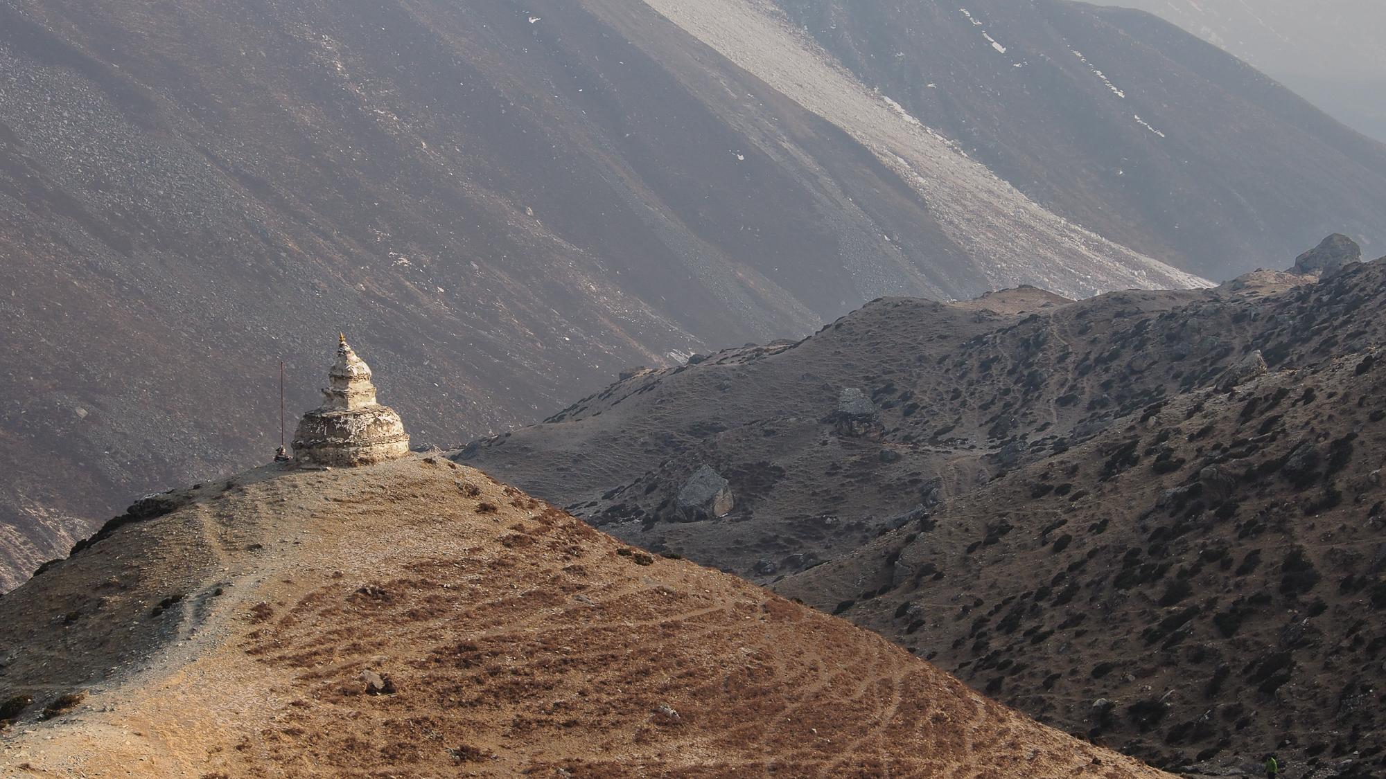 Dingboche stupa, Nepal