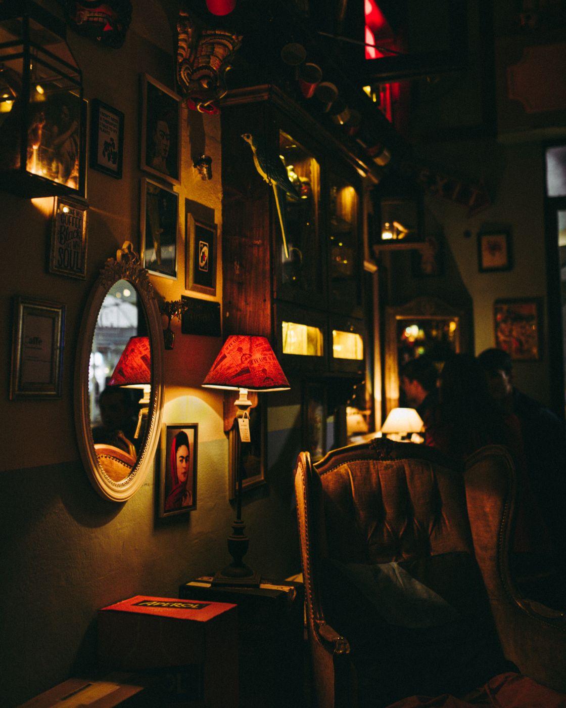 Fantastically beautiful bar, Italy